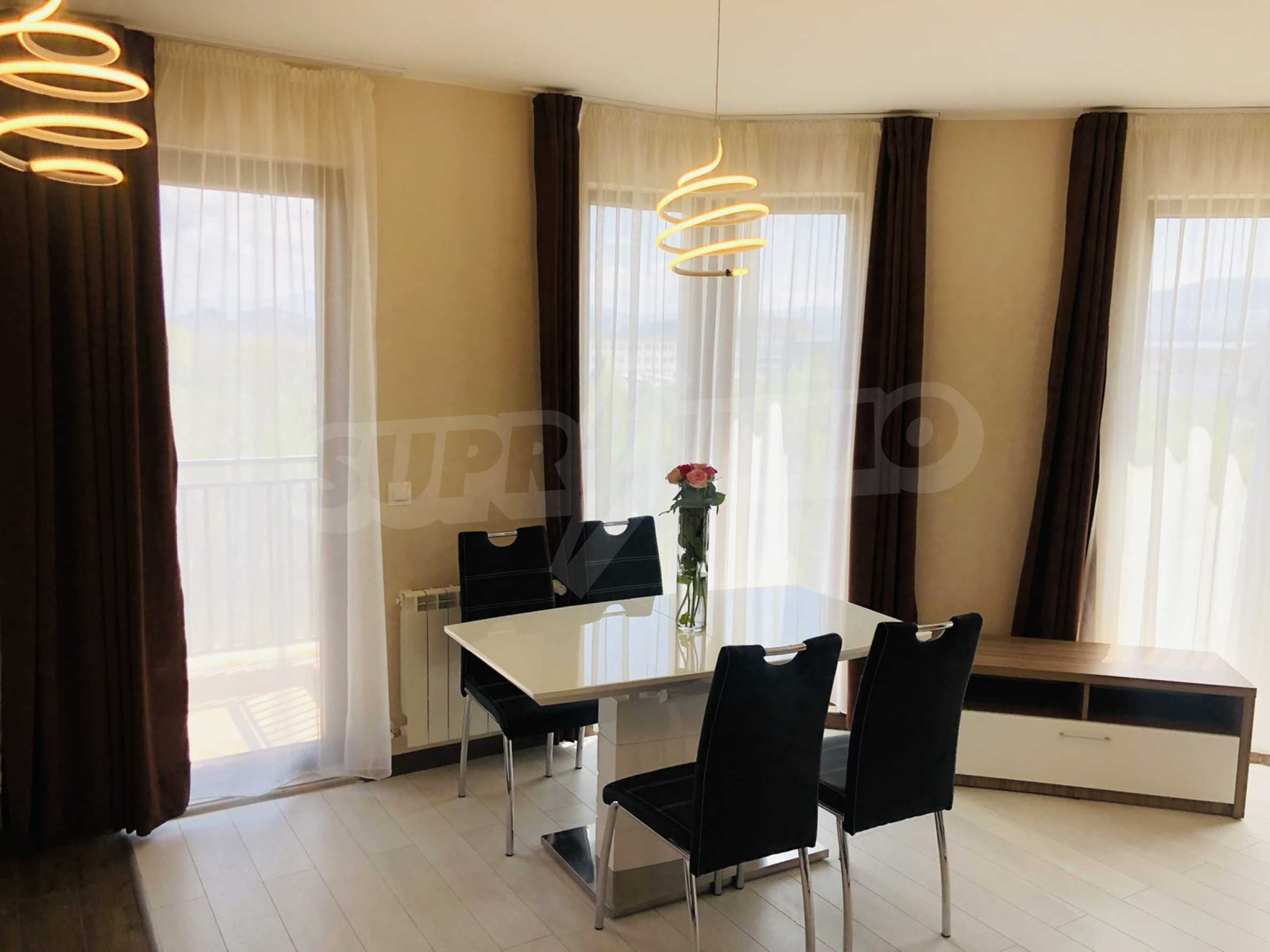 Two-bedroom, fully furnished, designer apartment in Student City