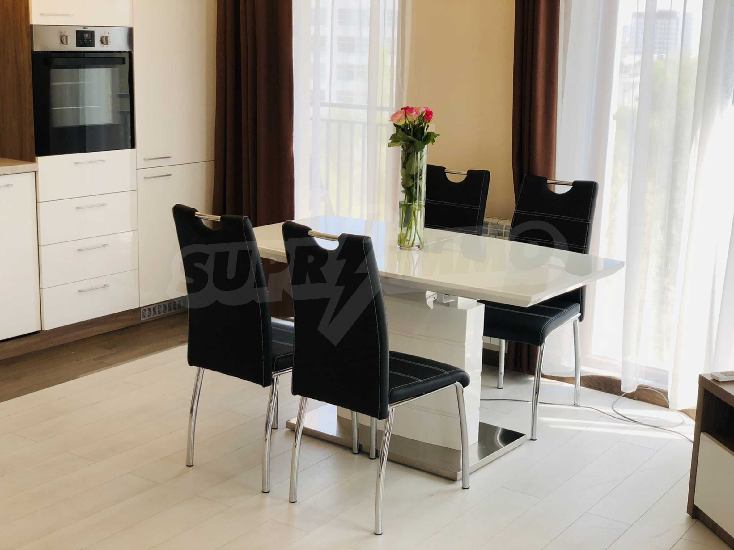 Two-bedroom, fully furnished, designer apartment in Student City 2