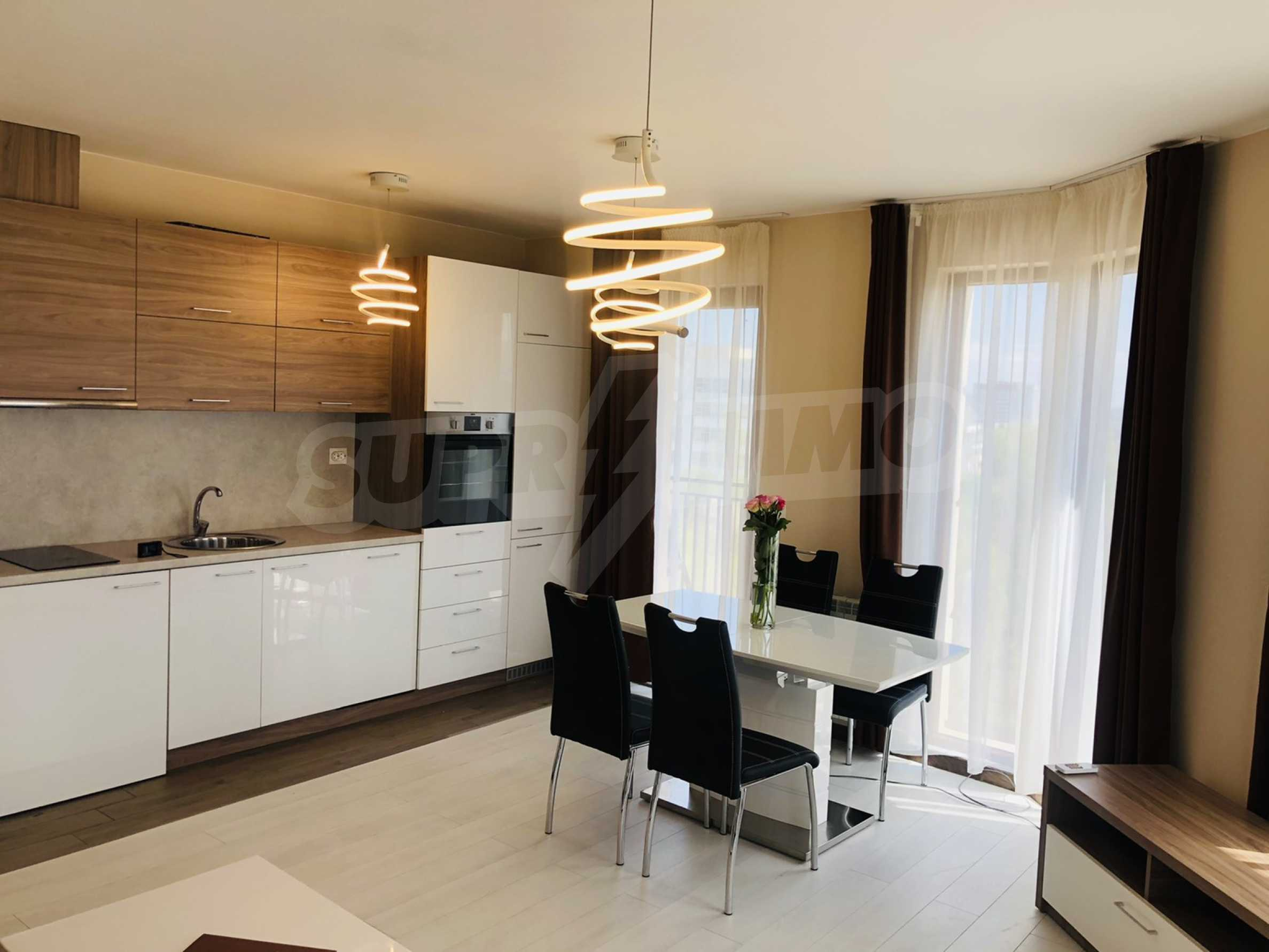 Two-bedroom, fully furnished, designer apartment in Student City 3