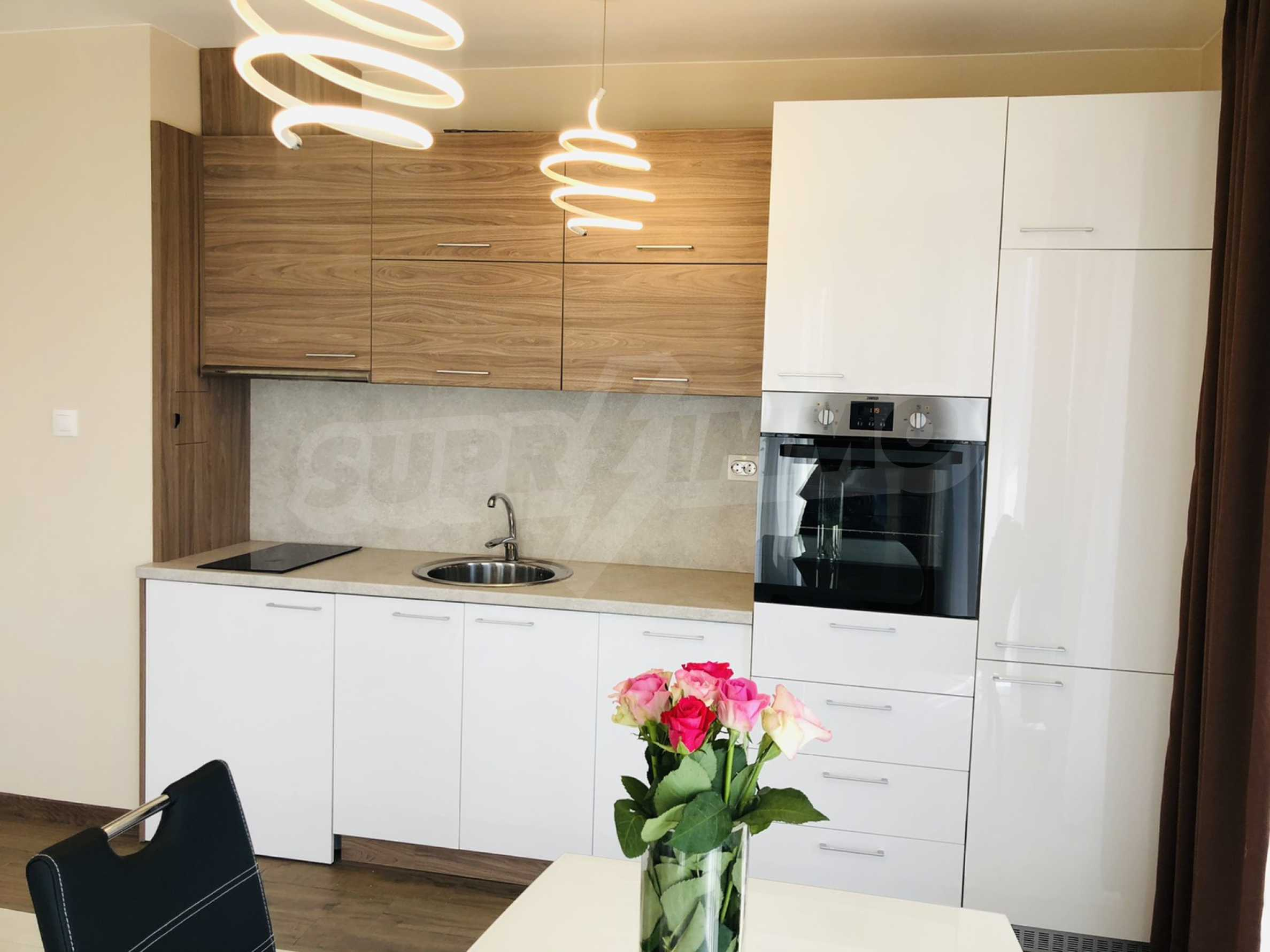 Two-bedroom, fully furnished, designer apartment in Student City 4