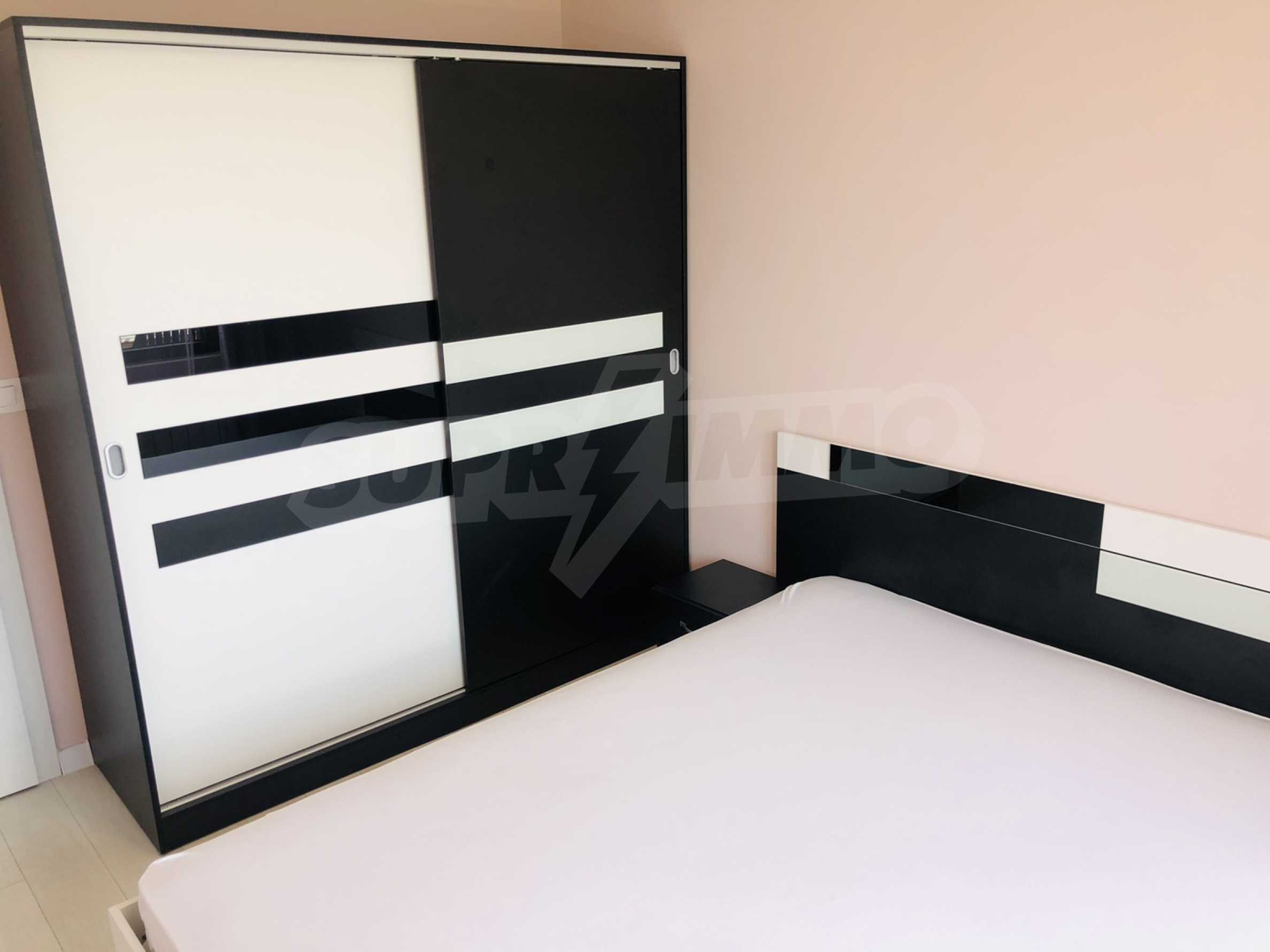 Two-bedroom, fully furnished, designer apartment in Student City 8