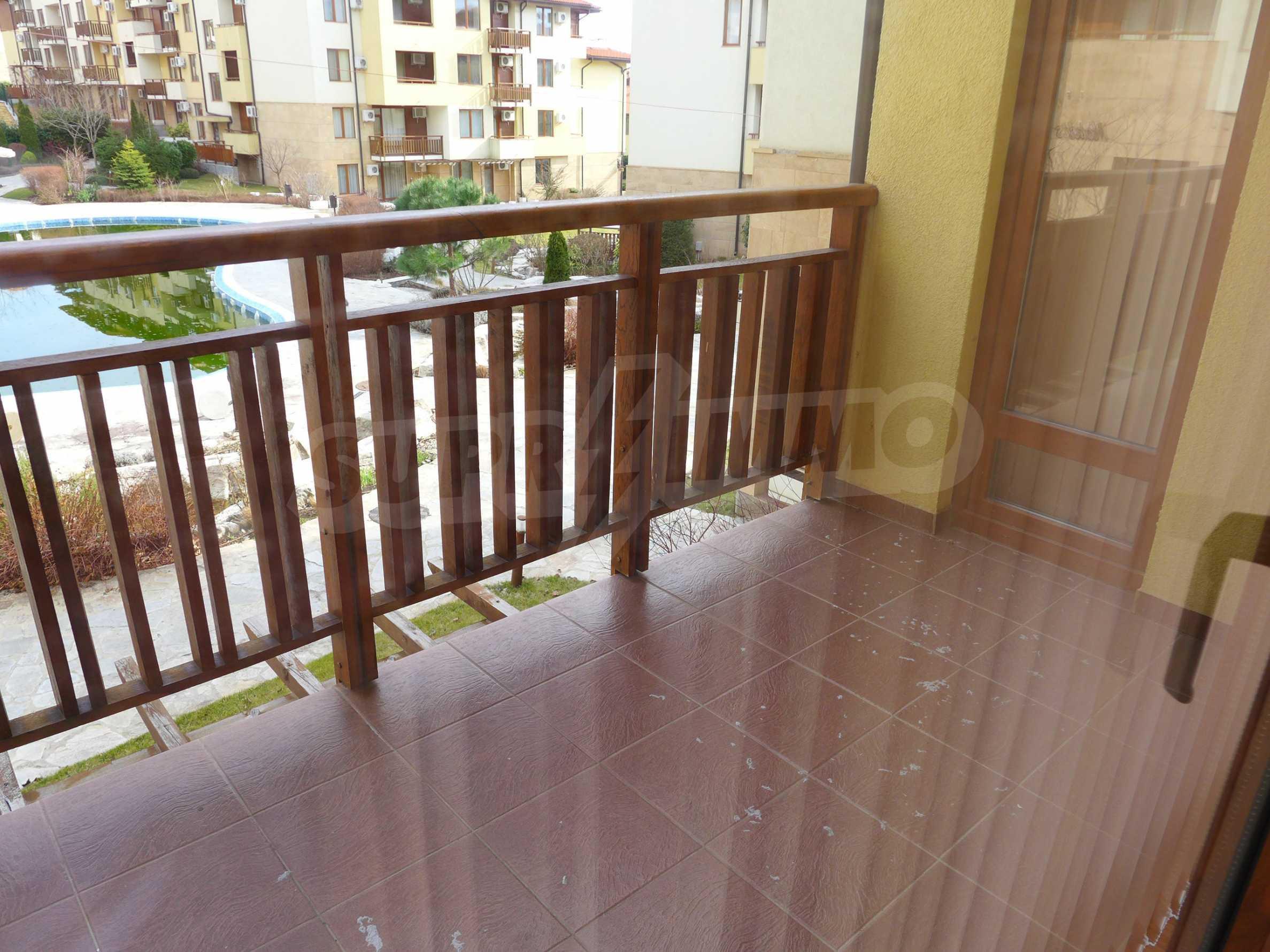 Schöne Wohnung mit zwei Schlafzimmern im Paradise Garden Complex 16