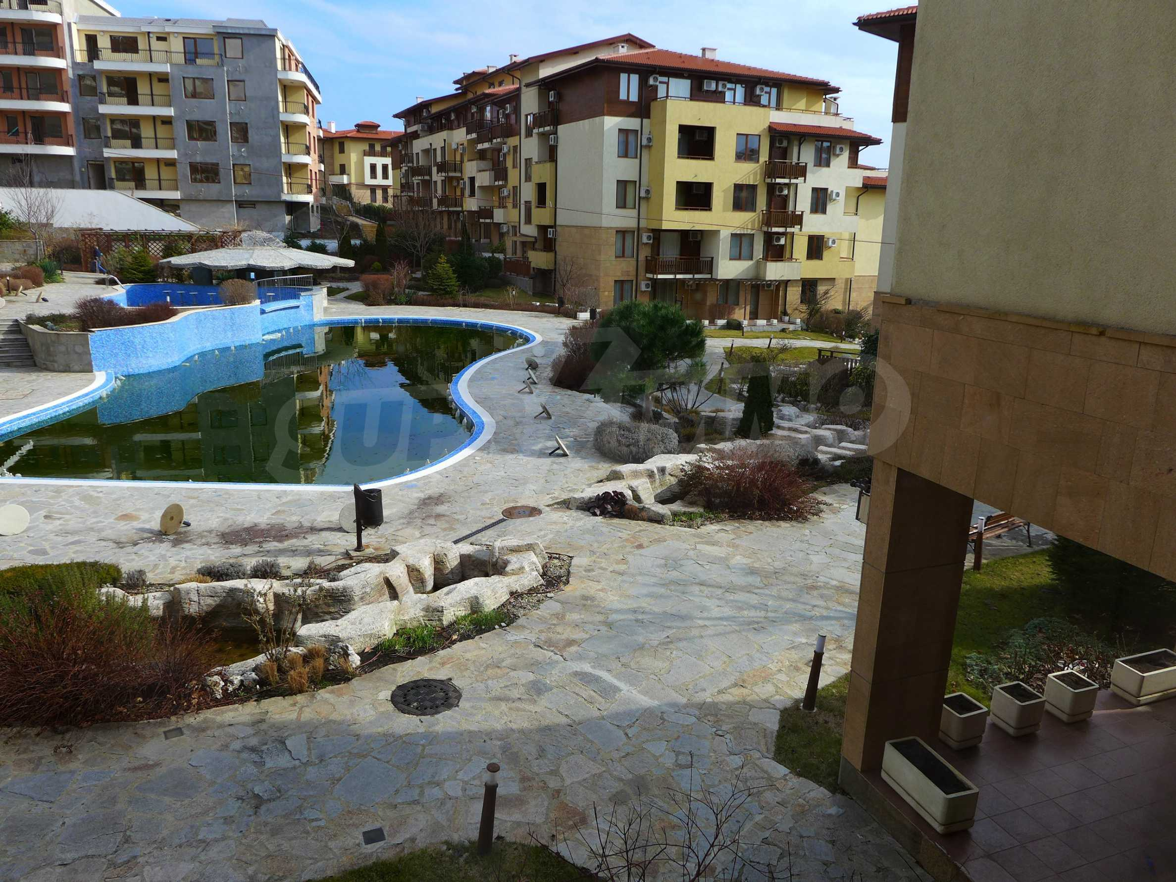 Schöne Wohnung mit zwei Schlafzimmern im Paradise Garden Complex 17