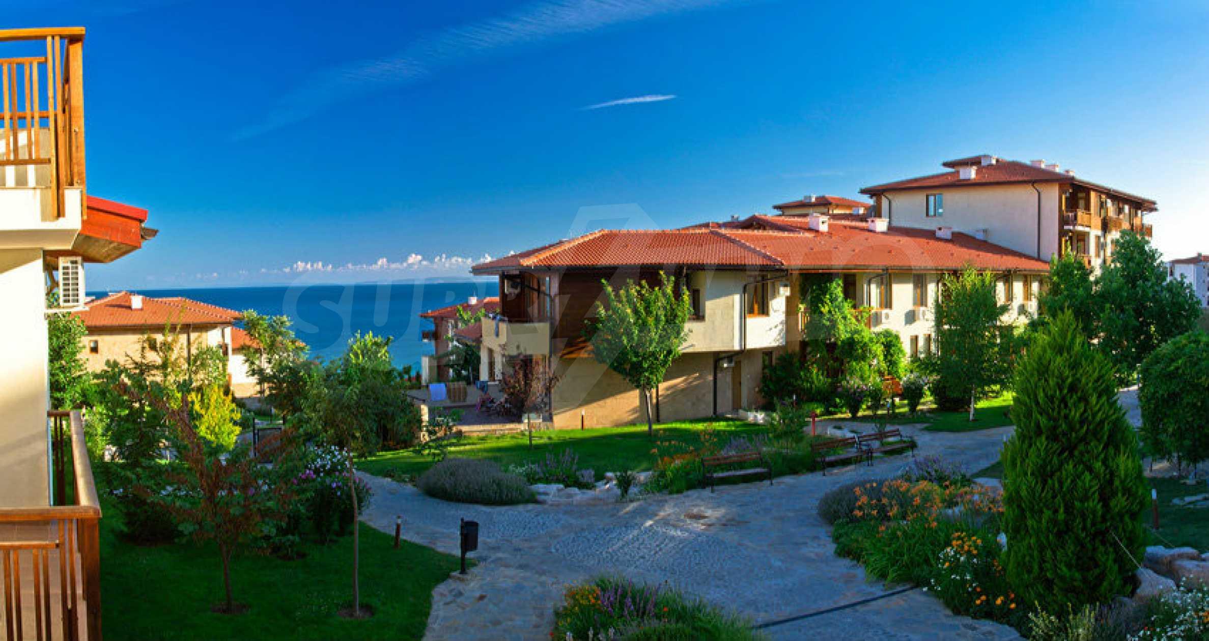 Schöne Wohnung mit zwei Schlafzimmern im Paradise Garden Complex 21