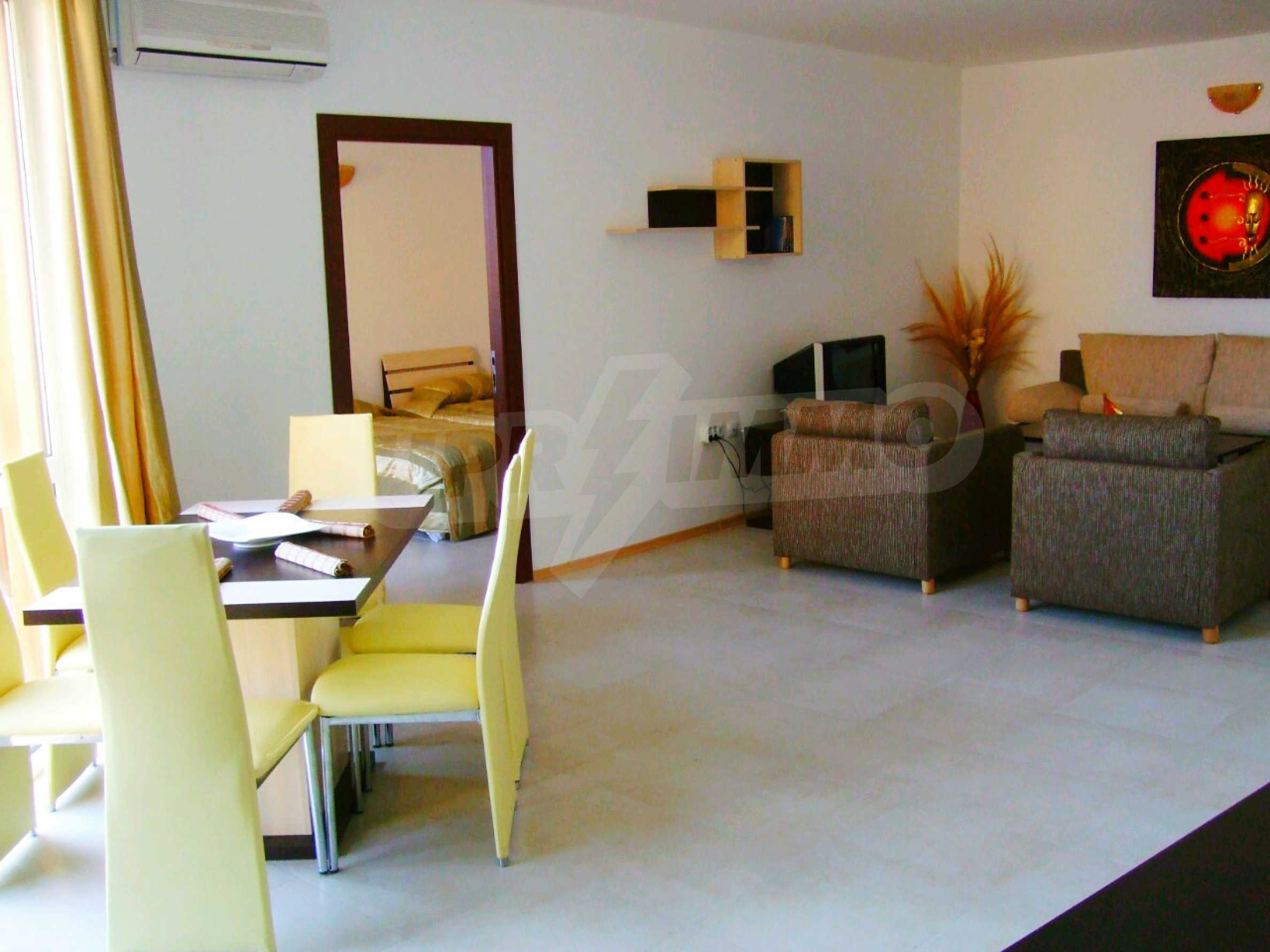 Two-bedroom apartment in Emerald Paradise complex  2