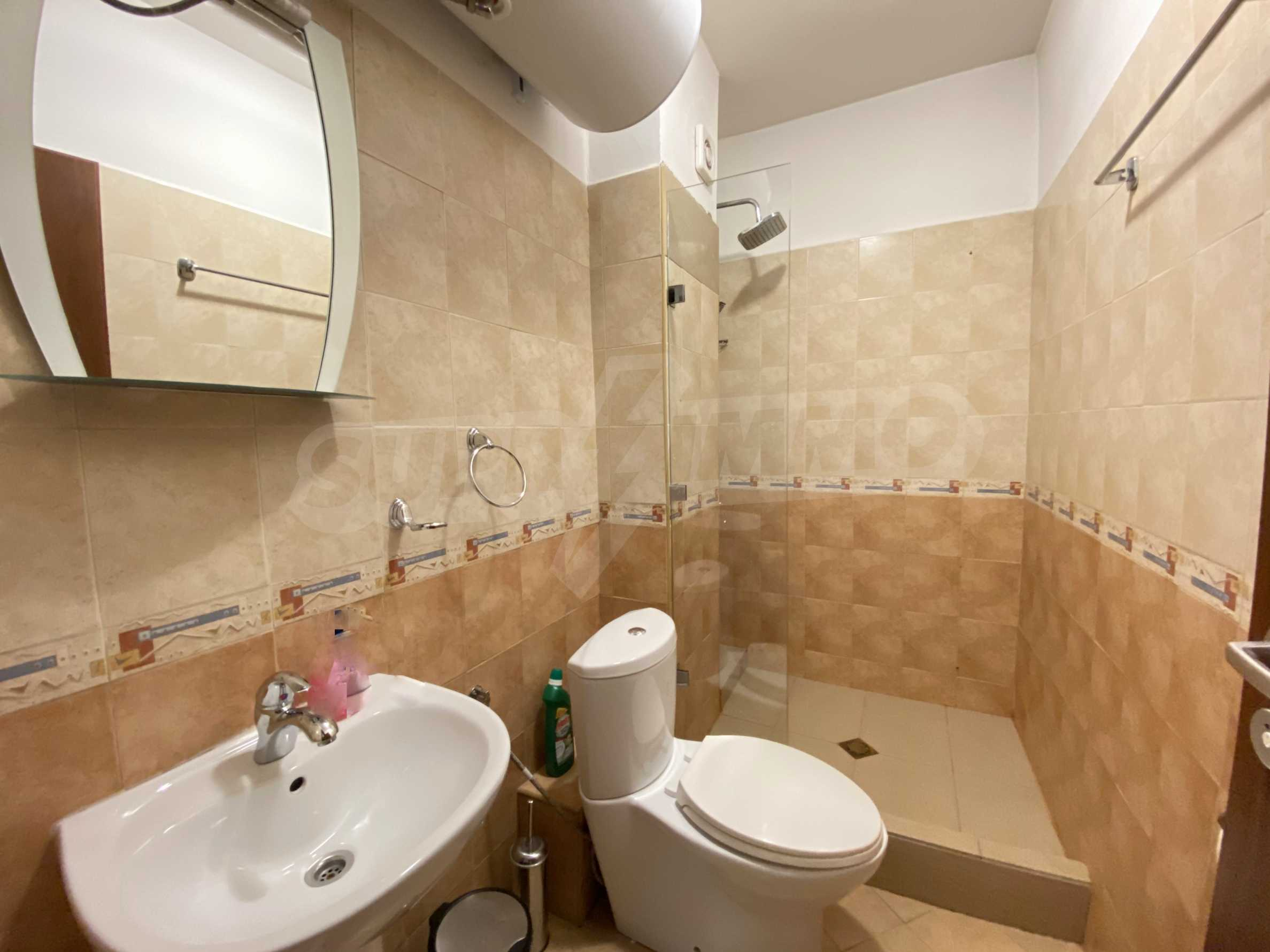 Furnished two-bedroom apartment located in a gated complex, just meters from the ski lift in Bansko 6