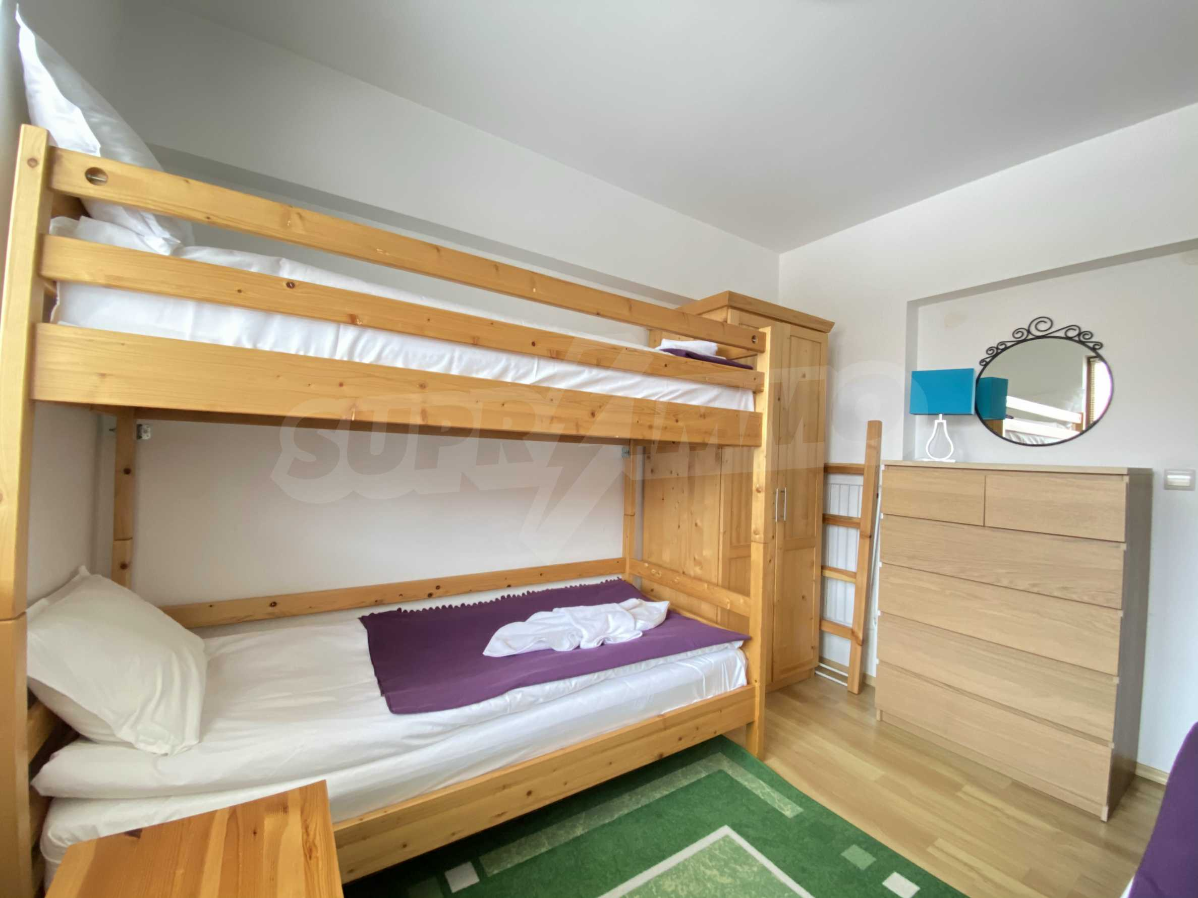 Furnished two-bedroom apartment located in a gated complex, just meters from the ski lift in Bansko 8