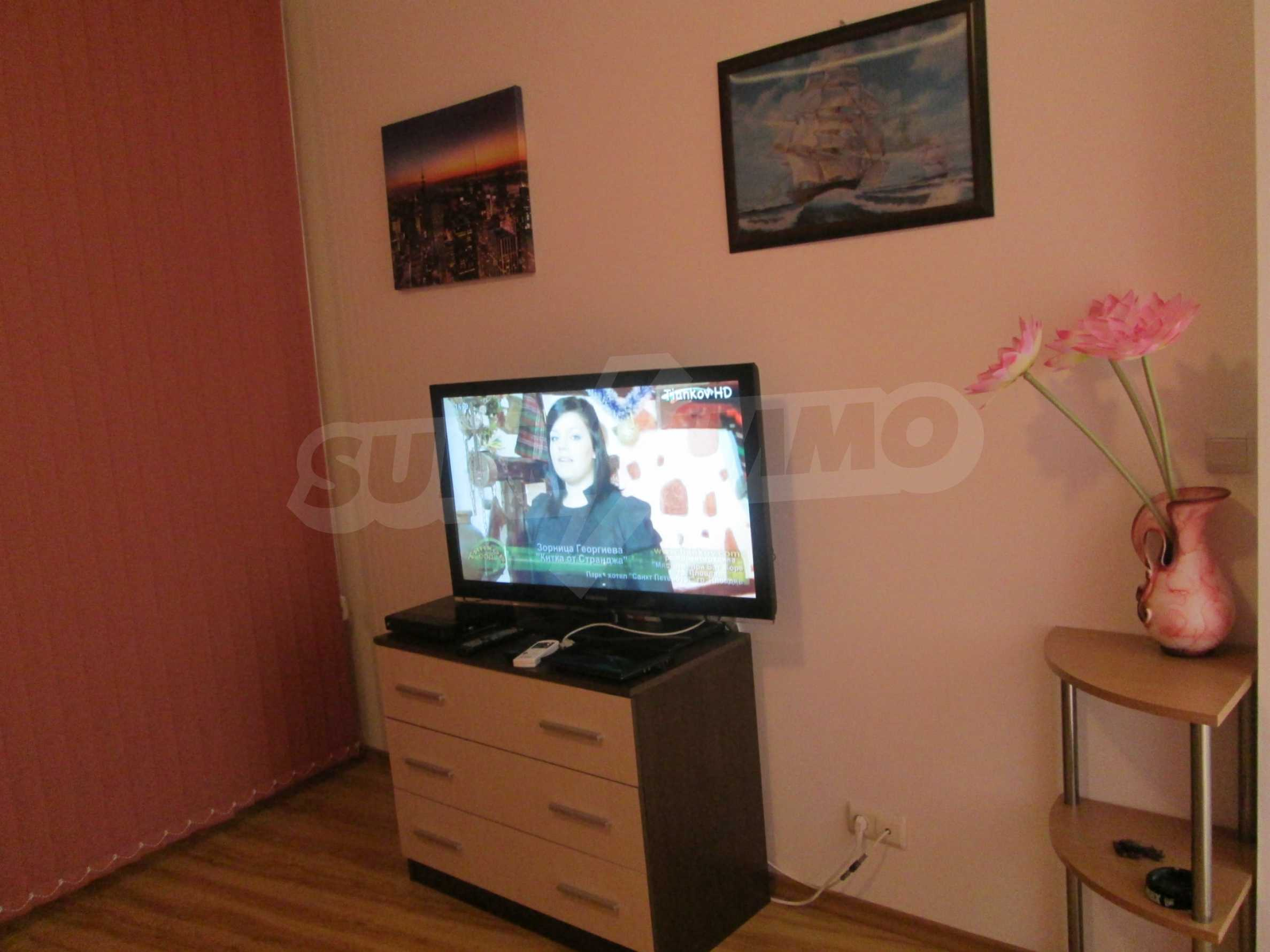 Komplett eingerichtete Wohnung mit einem Schlafzimmer am Strand 9