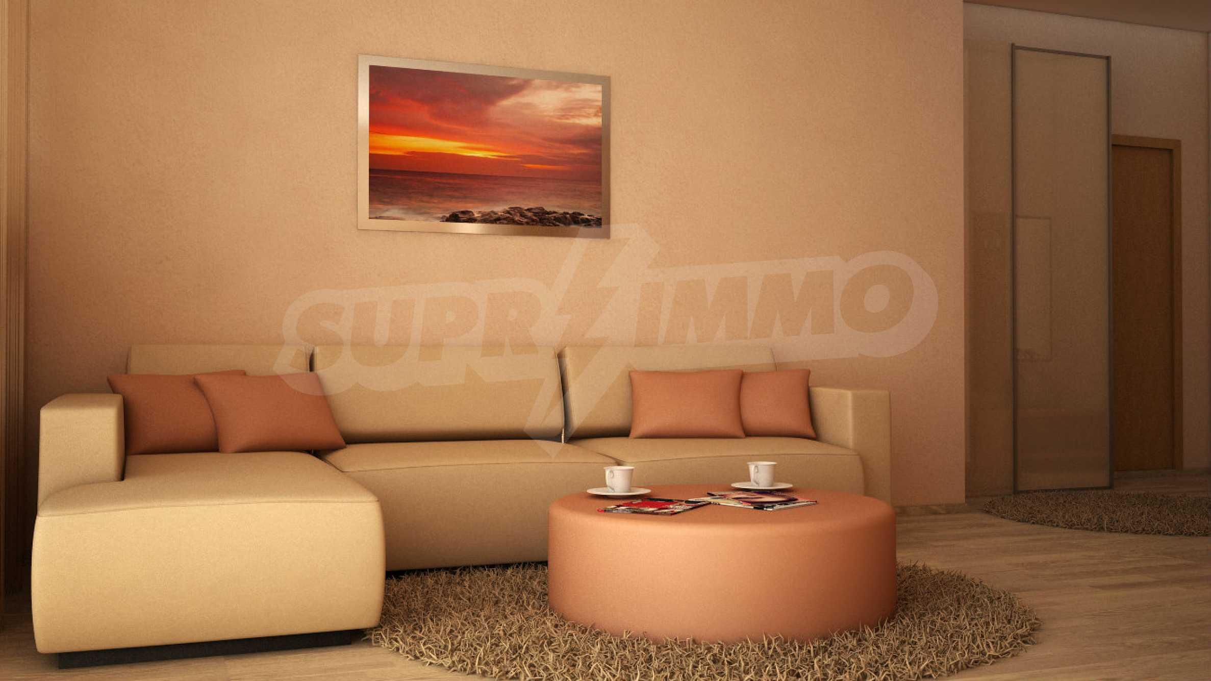 Komplett eingerichtete Wohnung mit einem Schlafzimmer am Strand 6