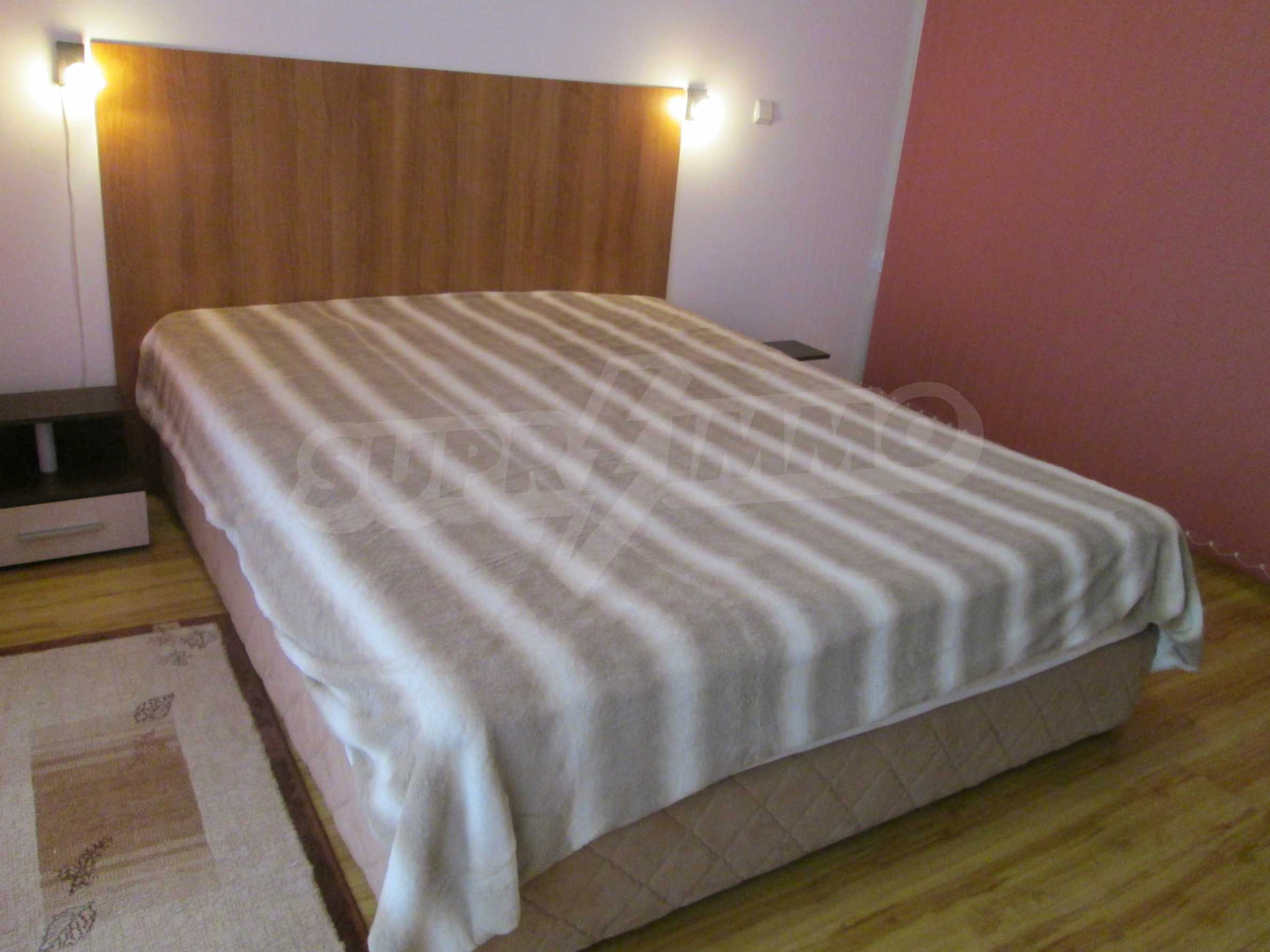 Komplett eingerichtete Wohnung mit einem Schlafzimmer am Strand 8