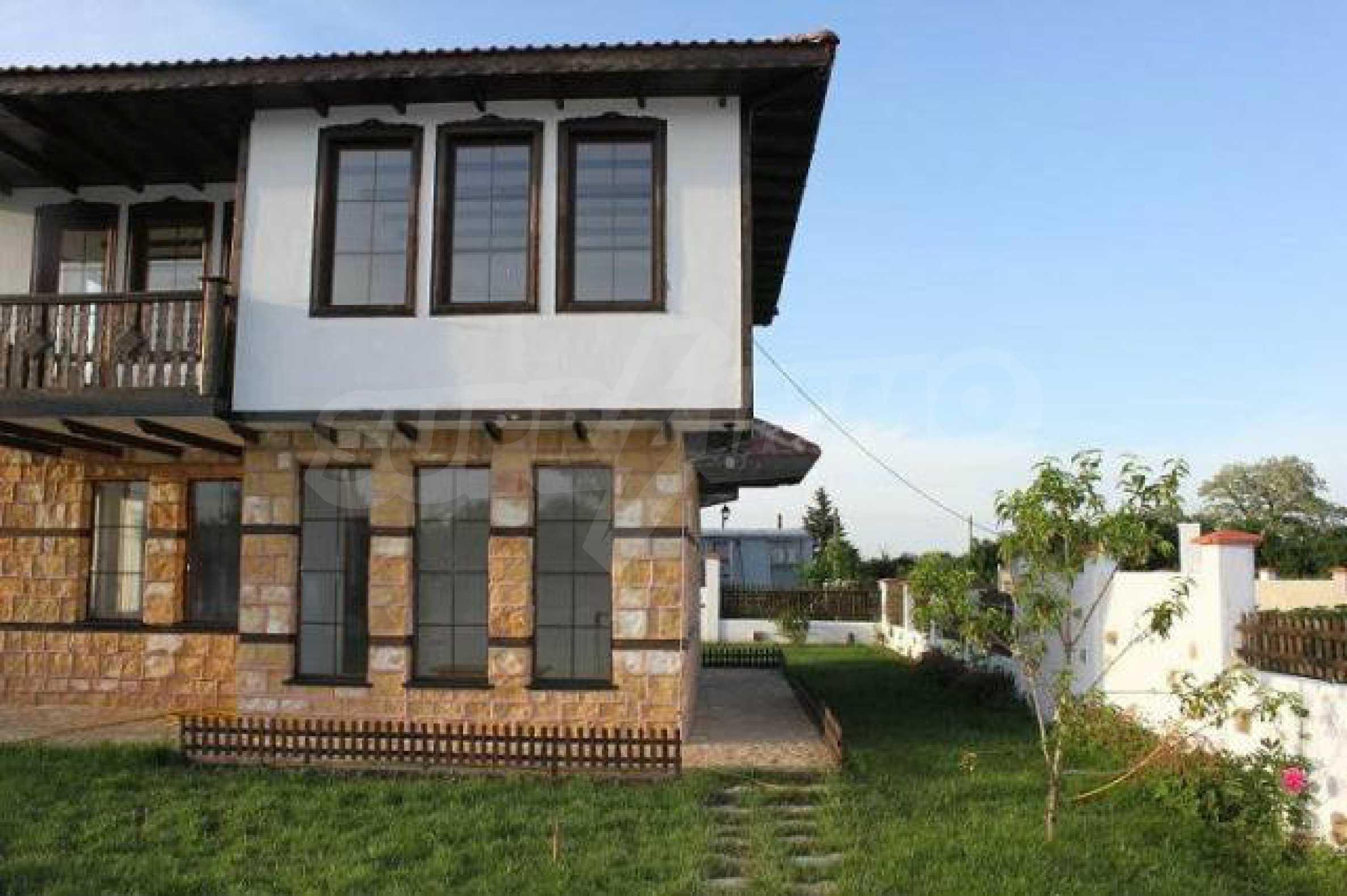 Прекрасный новый двухэтажный дом недалеко от Балчик 16