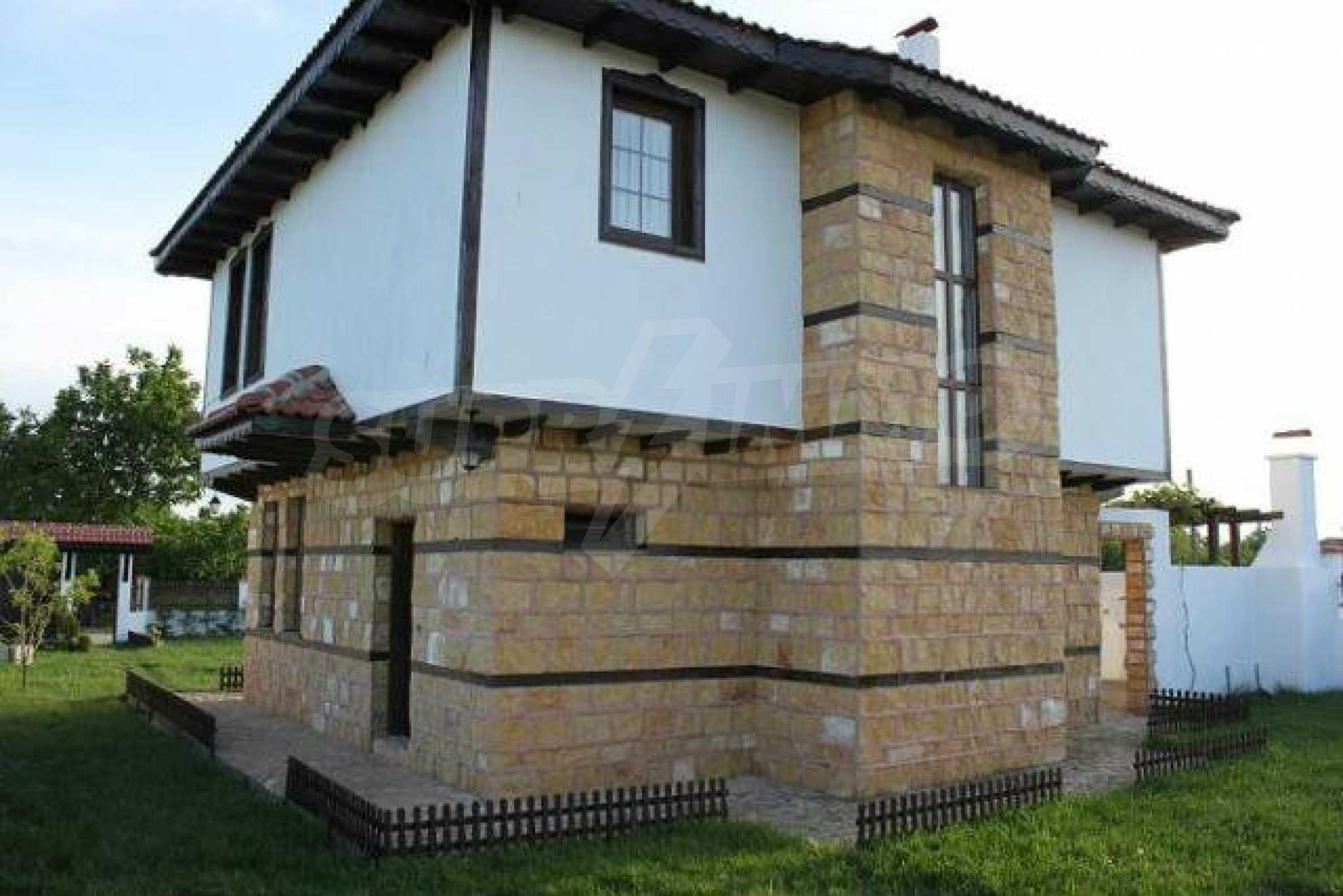 Прекрасный новый двухэтажный дом недалеко от Балчик 21