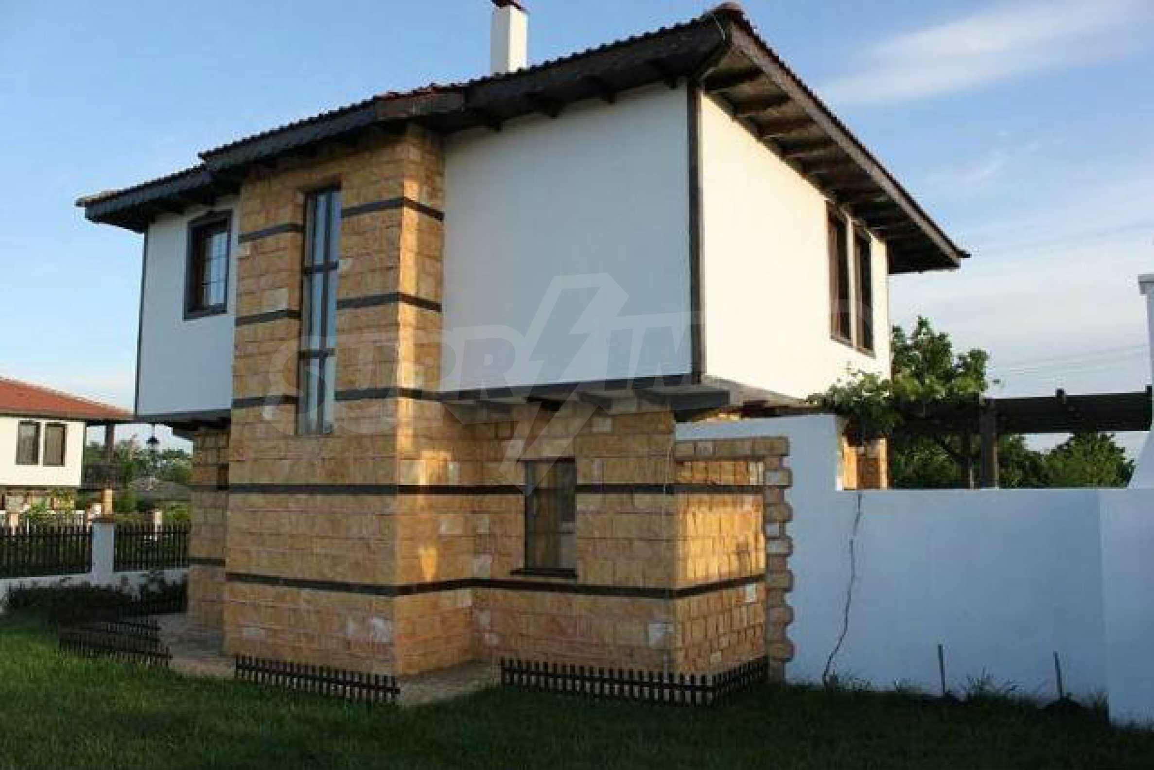 Прекрасный новый двухэтажный дом недалеко от Балчик 23