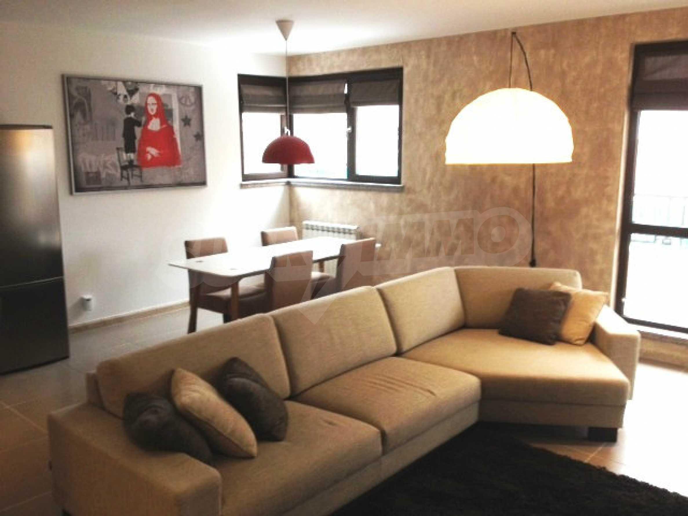 Komplett eingerichtete Wohnung zur Miete im Stadtteil Simeonovo