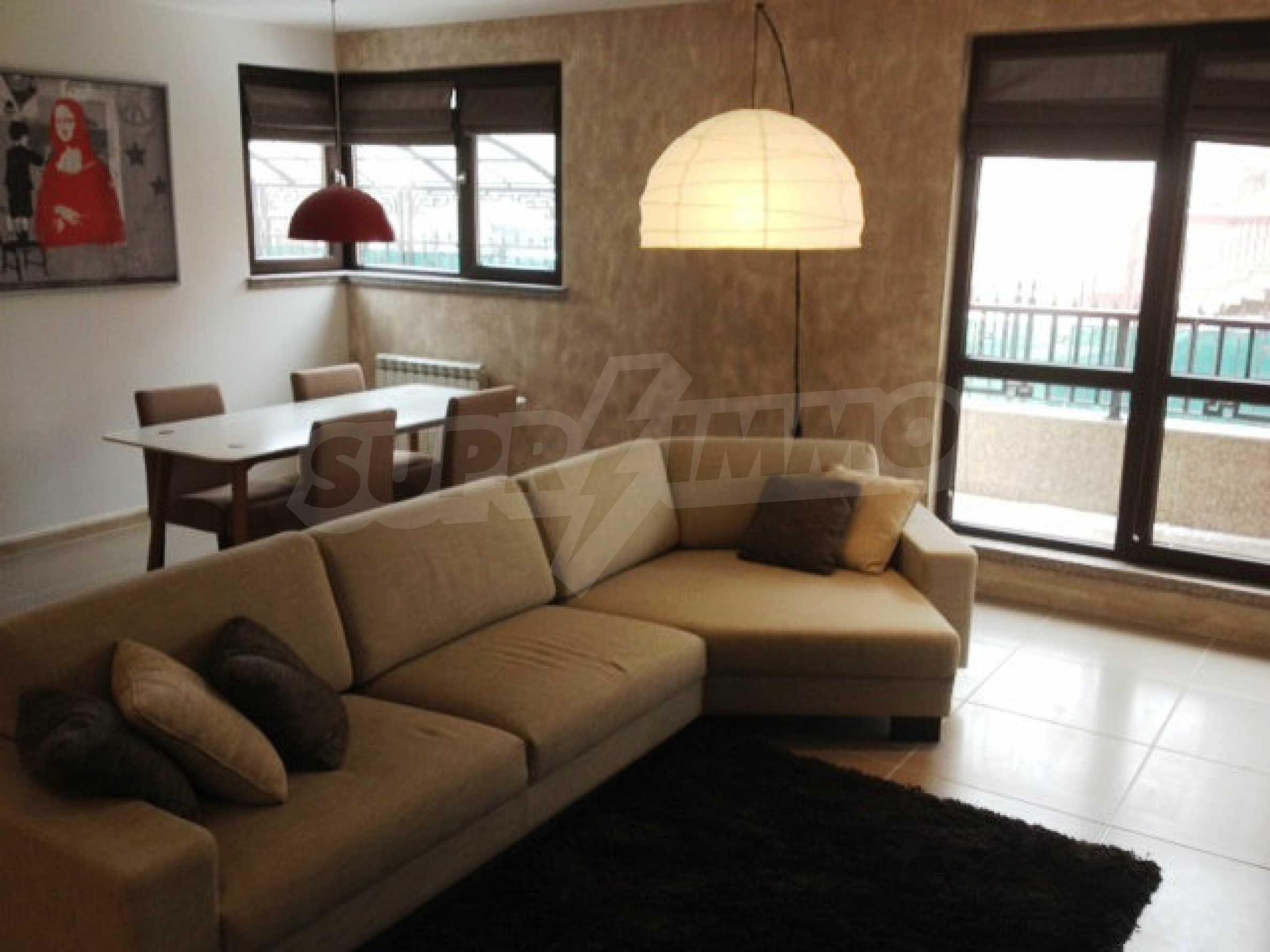 Komplett eingerichtete Wohnung zur Miete im Stadtteil Simeonovo 1