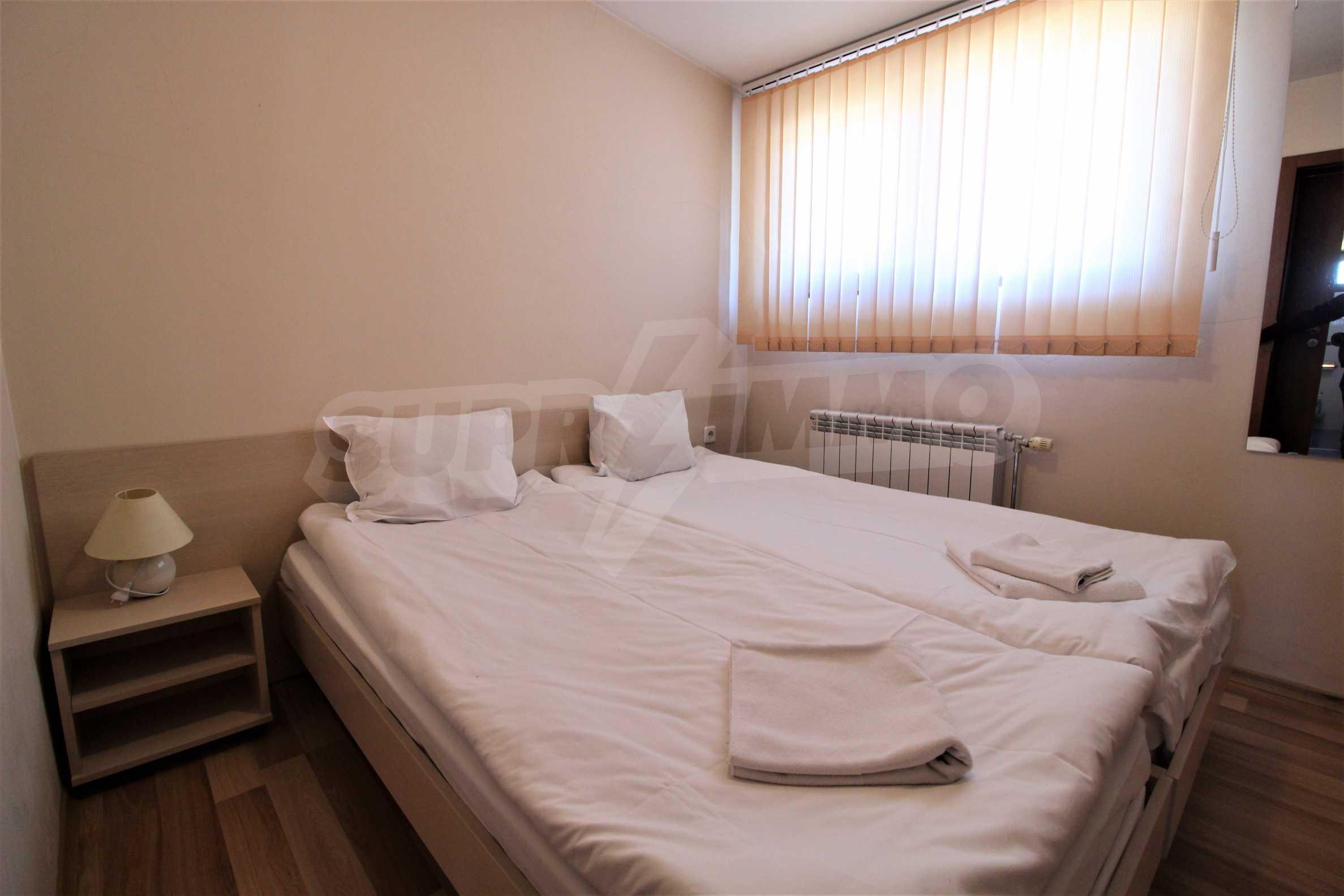 """Möbliertes Apartment mit einem Schlafzimmer im Komplex """"Snow Play"""" in Bansko 2"""