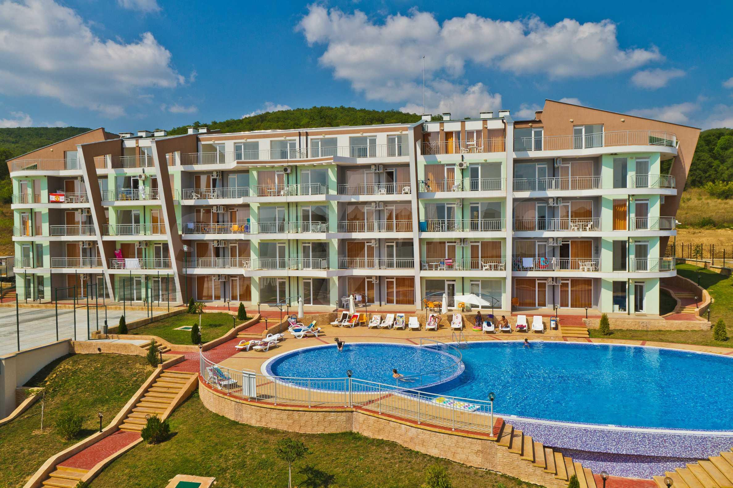 Sunset Kosharitsa - aпартаменти в атрактивен комплекс сред планината и морето, на 5 минути с кола от Слънчев бряг 3