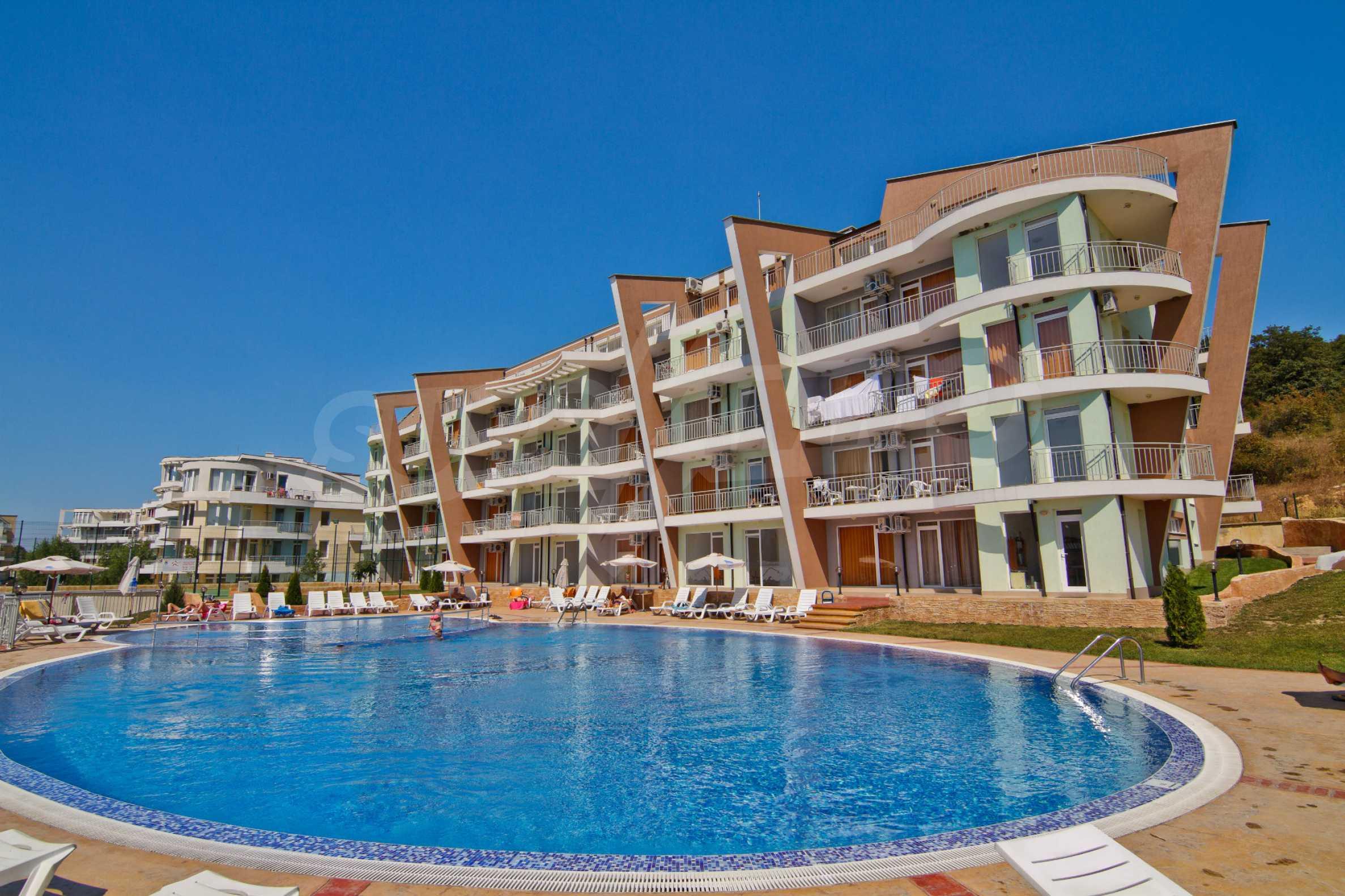 Sunset Kosharitsa - aпартаменти в атрактивен комплекс сред планината и морето, на 5 минути с кола от Слънчев бряг 2