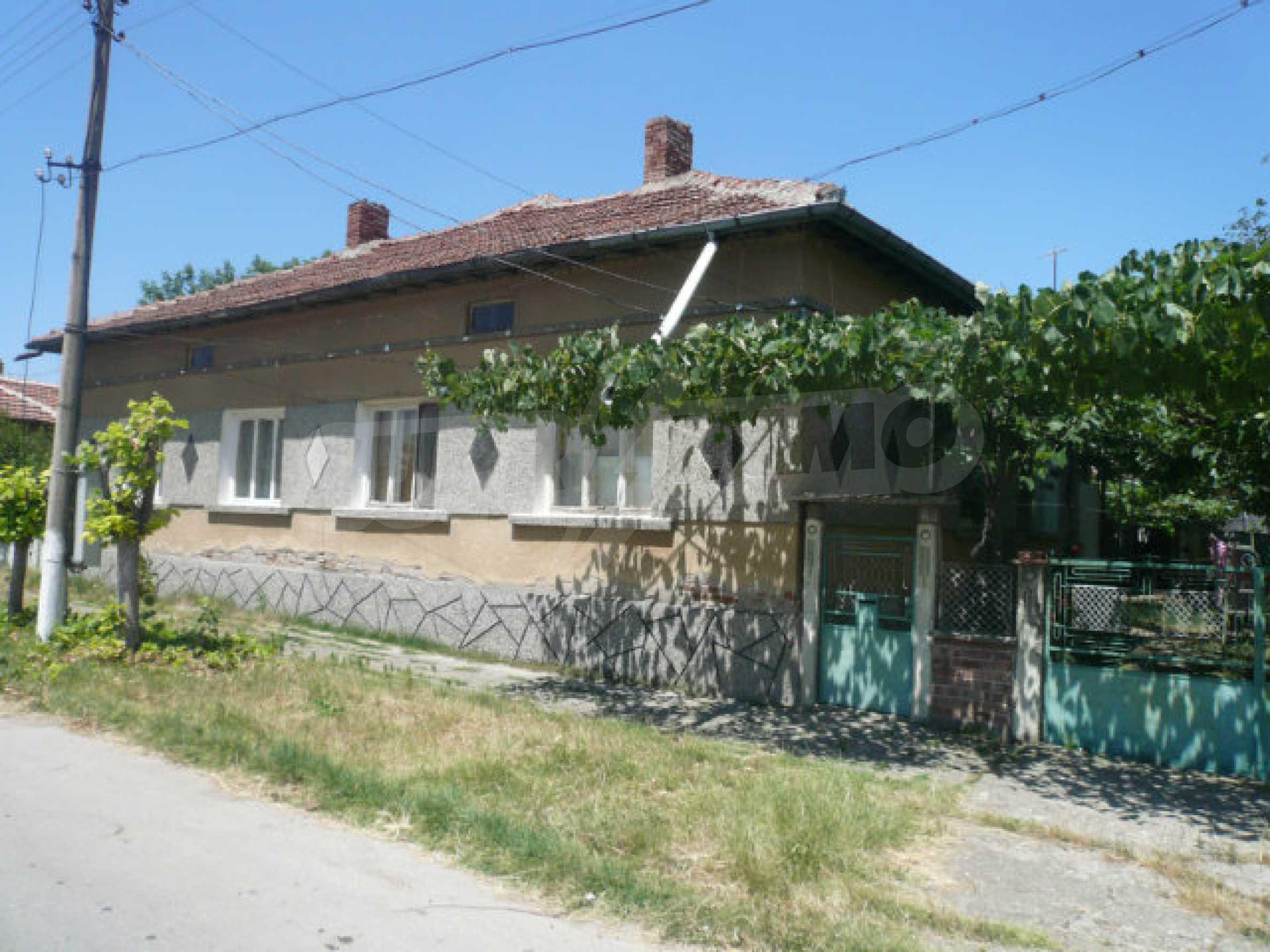 Einfamilienhaus mit schönem Garten, 40 km von Vidin entfernt