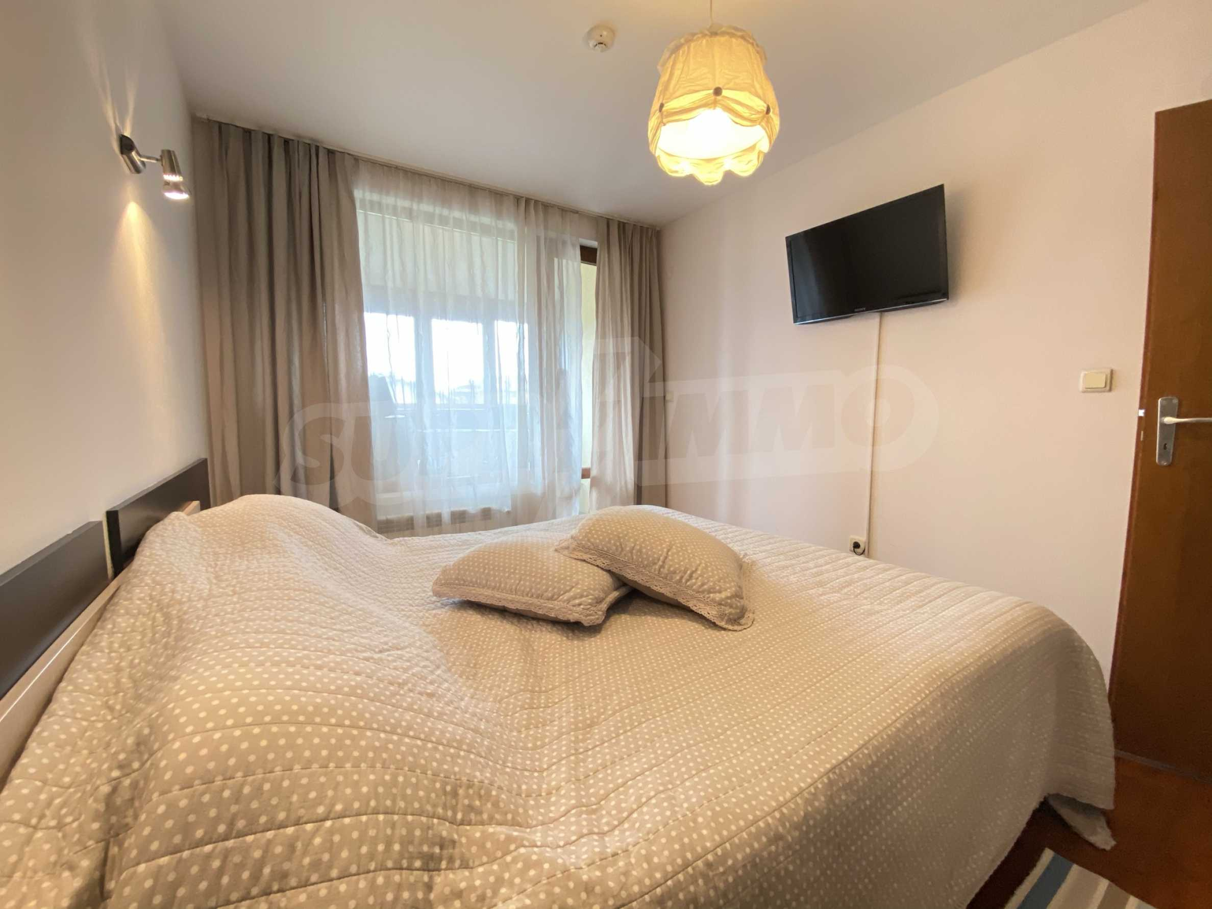 Furnished apartment meters from the ski lift in the town of Bansko 2