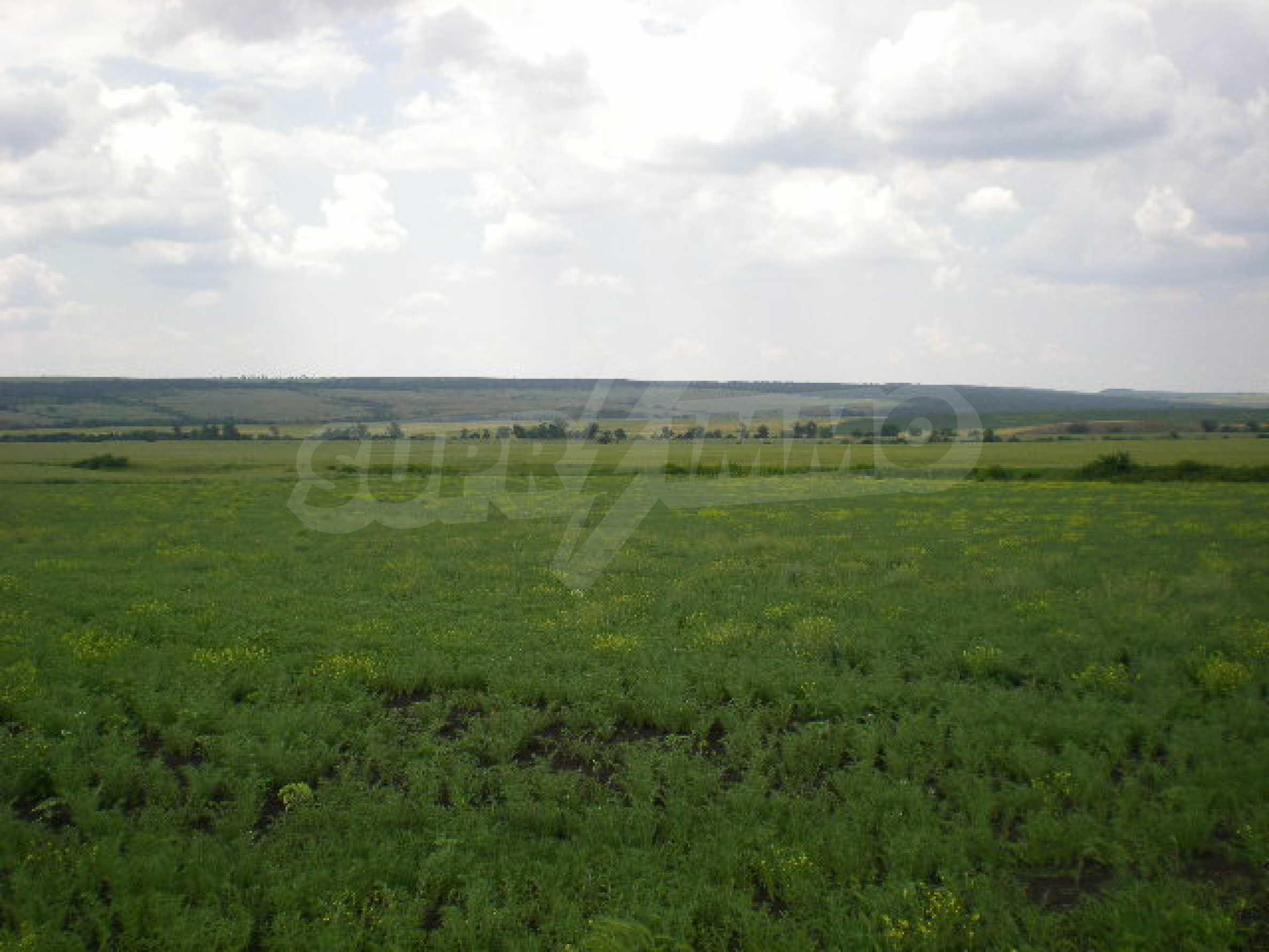 Огромный участок сельскохозяйственной земли недалеко от магистрали 2