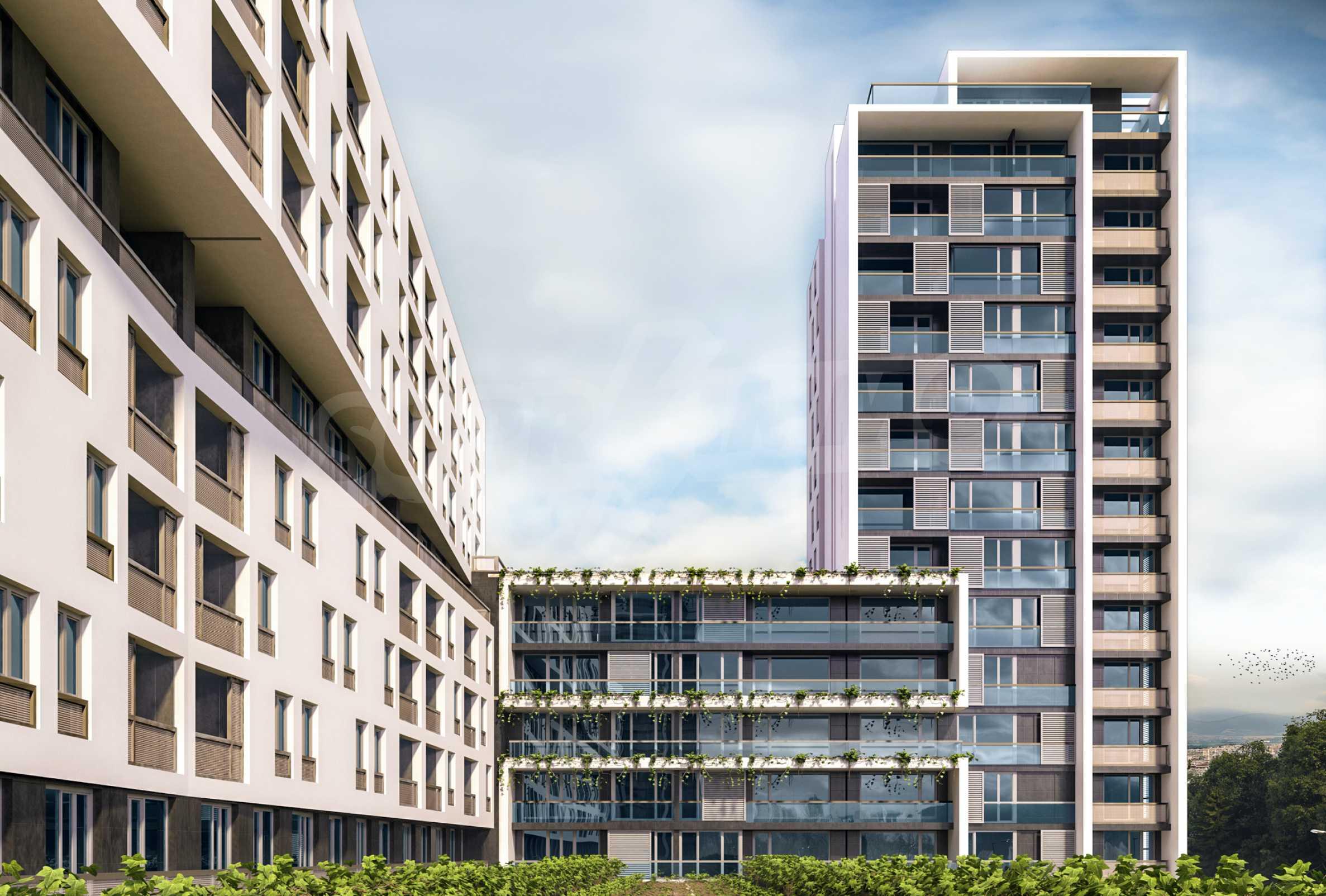 Exklusives Wohnprojekt in einer ruhigen Grünlage nahe Zentrum 9