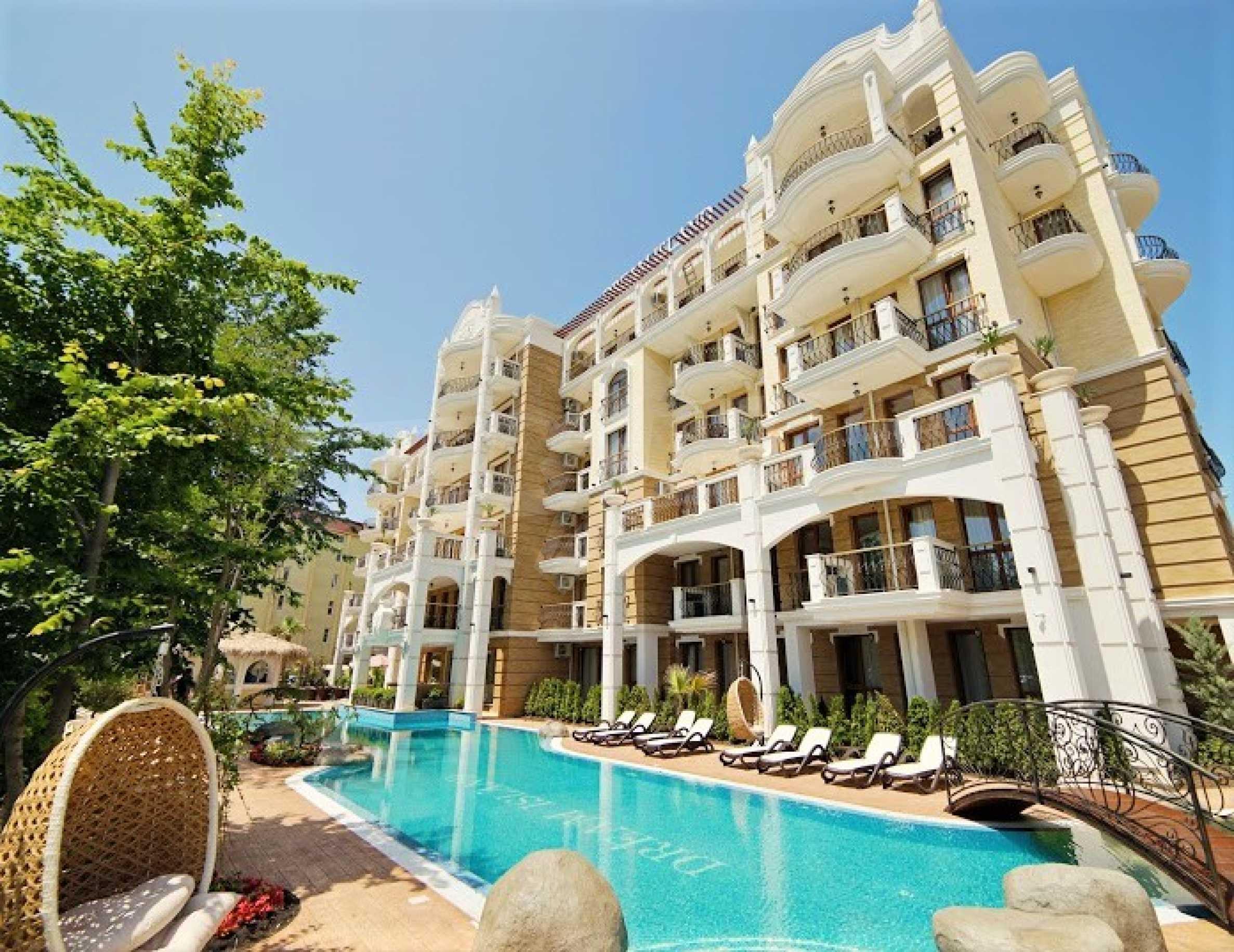 Sommersaison 2021! Auswahl an Mietwohnungen im Komplex der Premiumklasse