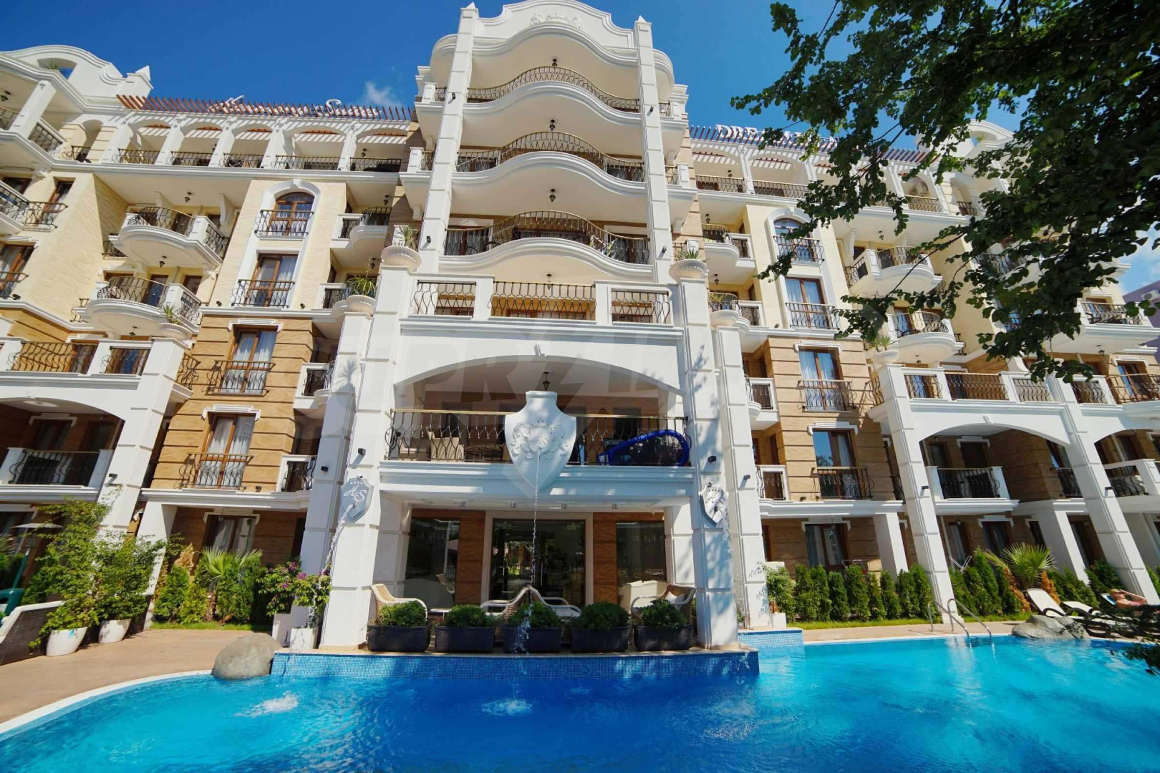 Sommersaison 2021! Auswahl an Mietwohnungen im Komplex der Premiumklasse 24