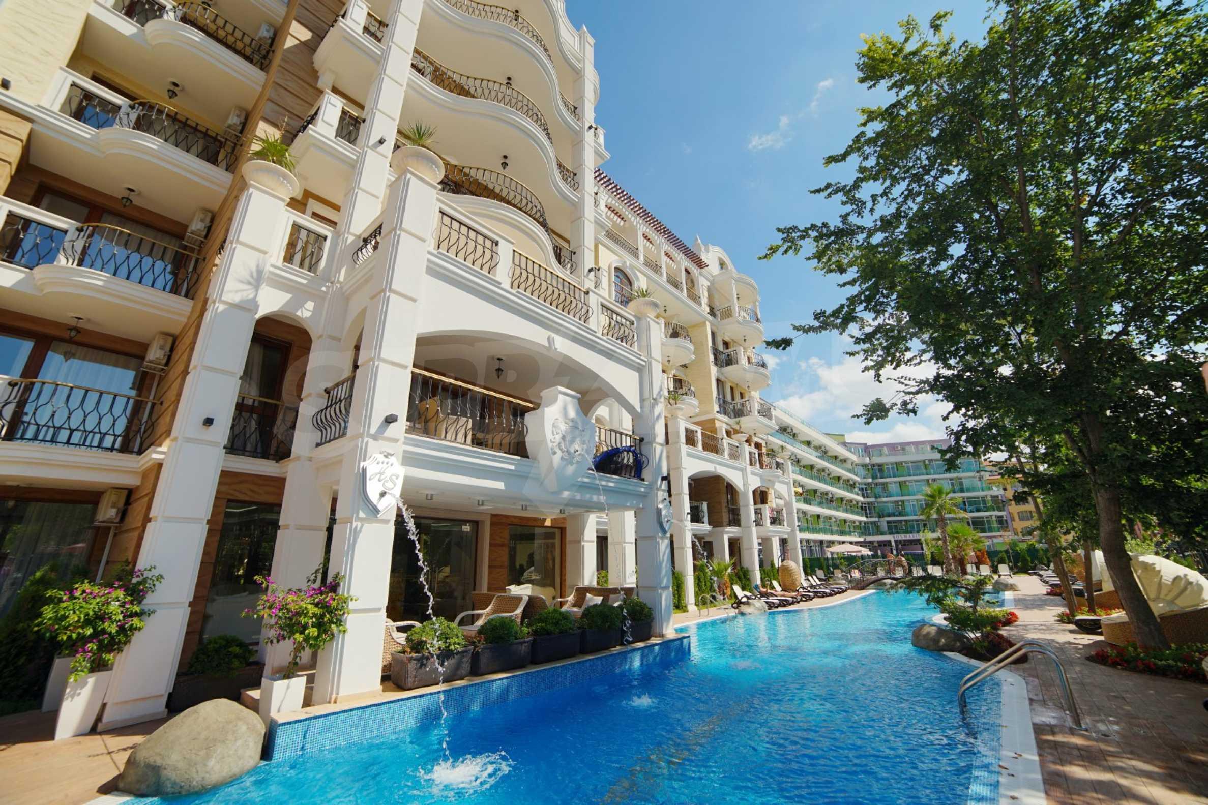 Sommersaison 2021! Auswahl an Mietwohnungen im Komplex der Premiumklasse 25