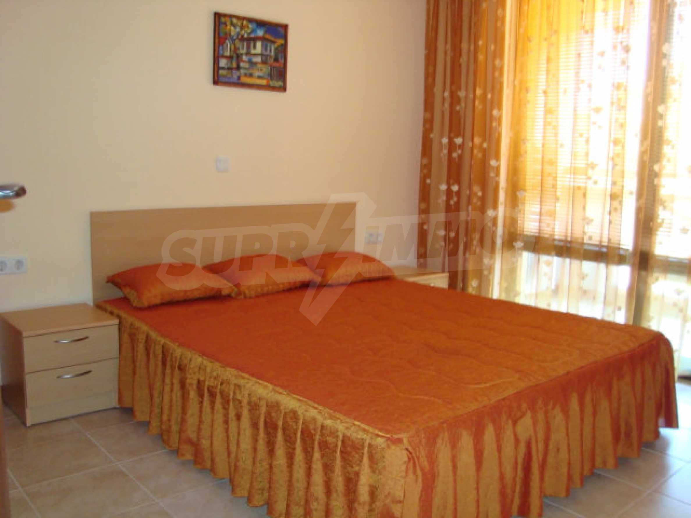 Luxus-Apartment mit zwei Schlafzimmern in einem ausgezeichneten Komplex in Chernomorets 13