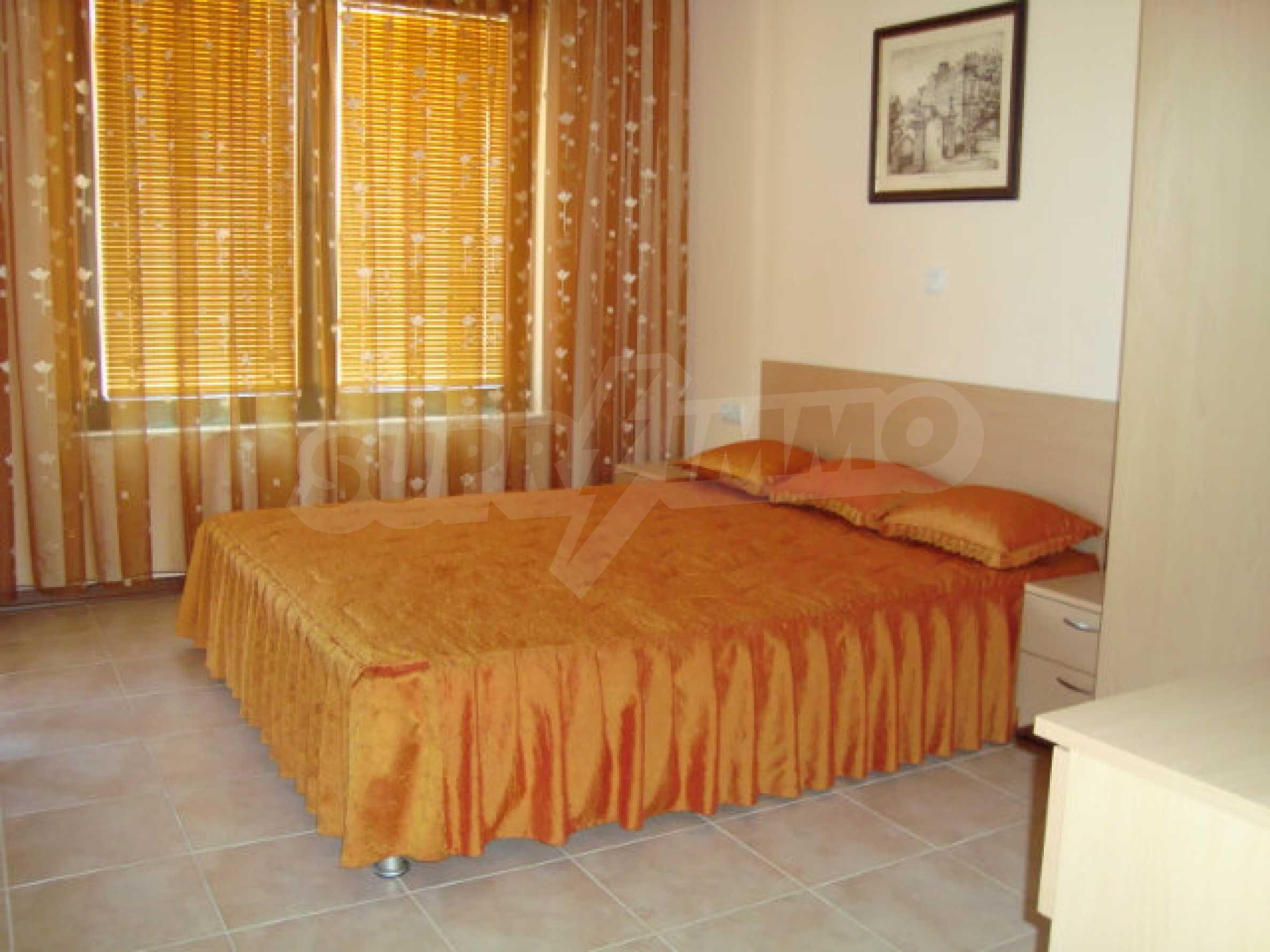 Luxus-Apartment mit zwei Schlafzimmern in einem ausgezeichneten Komplex in Chernomorets 14