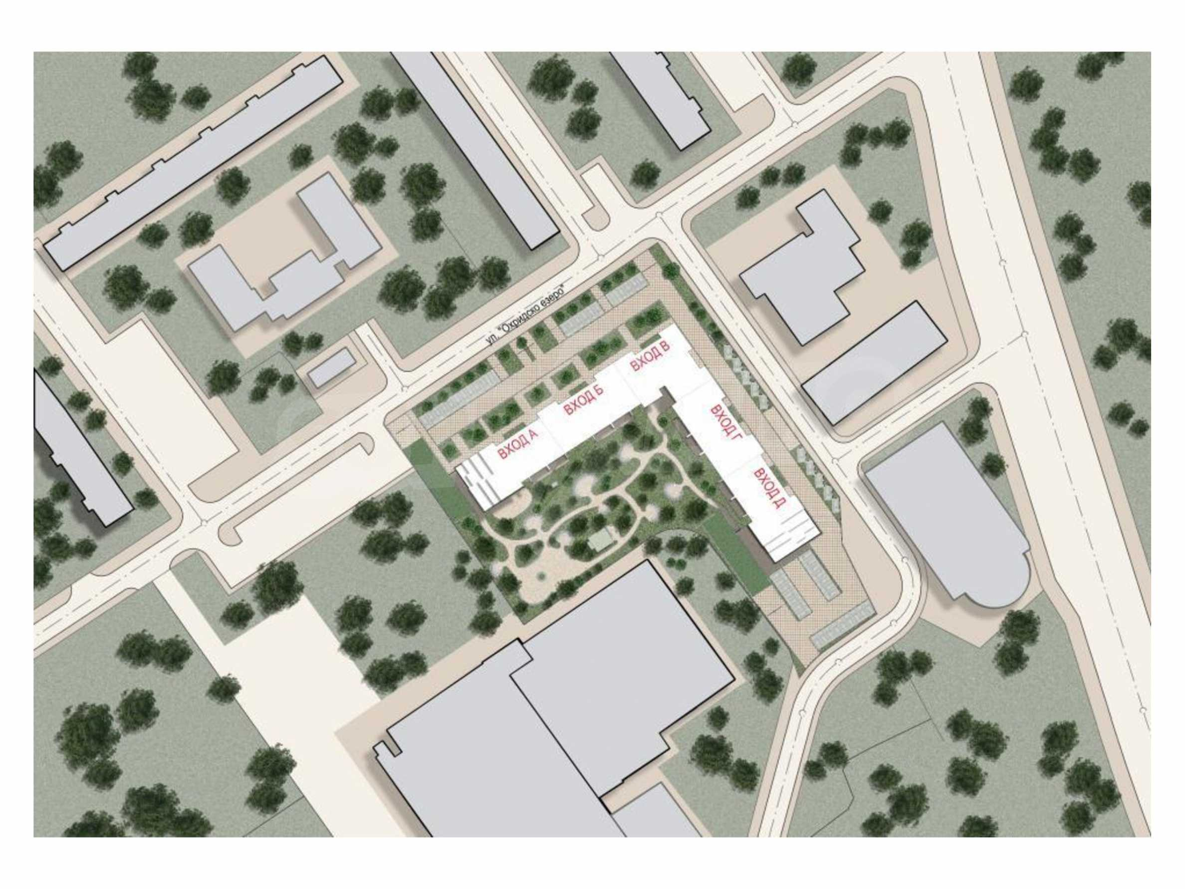 New project next to a park, Mall Sofia and metro station 4