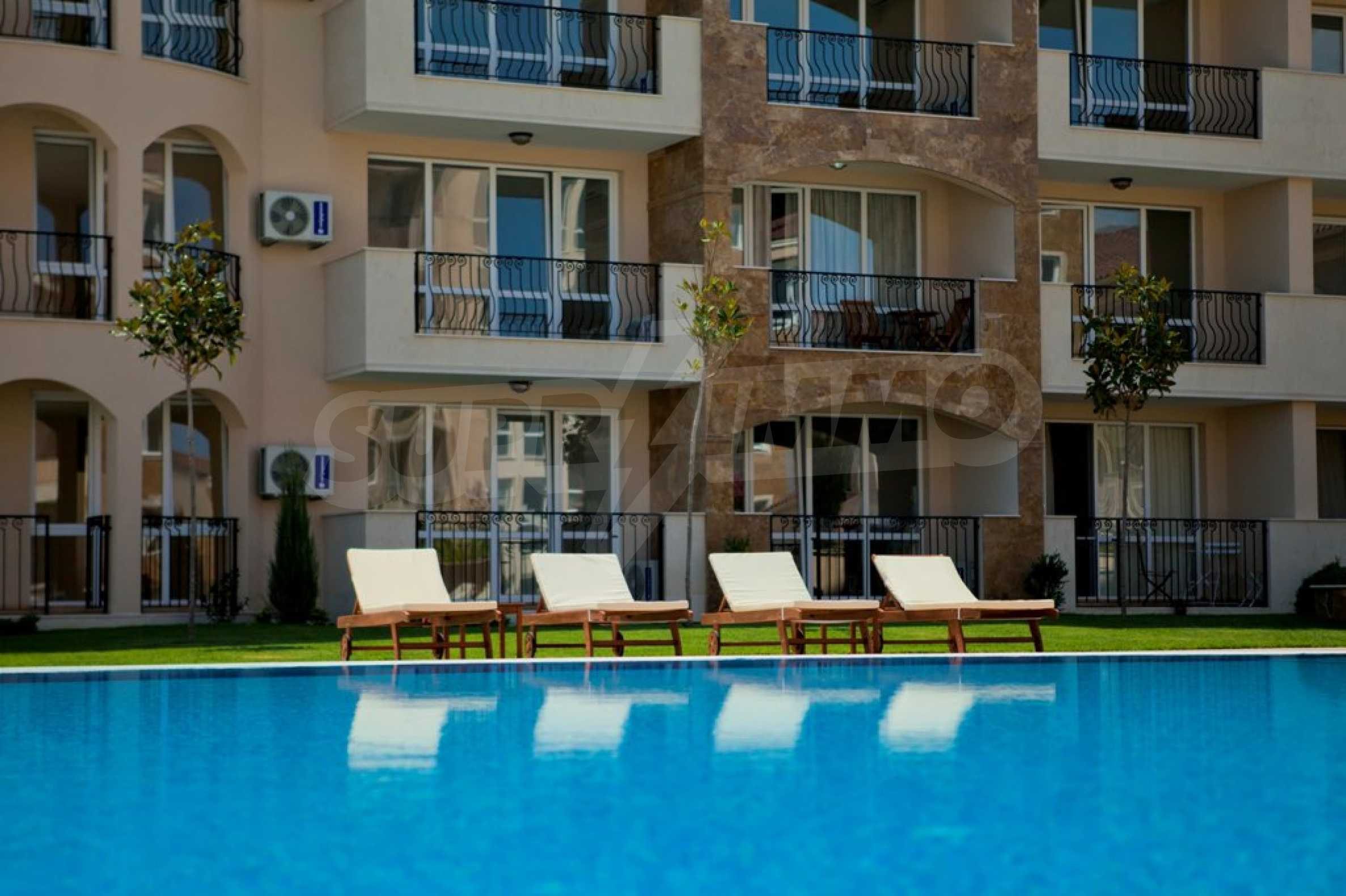 New apartment complex Atia resort in Chernomorets 16