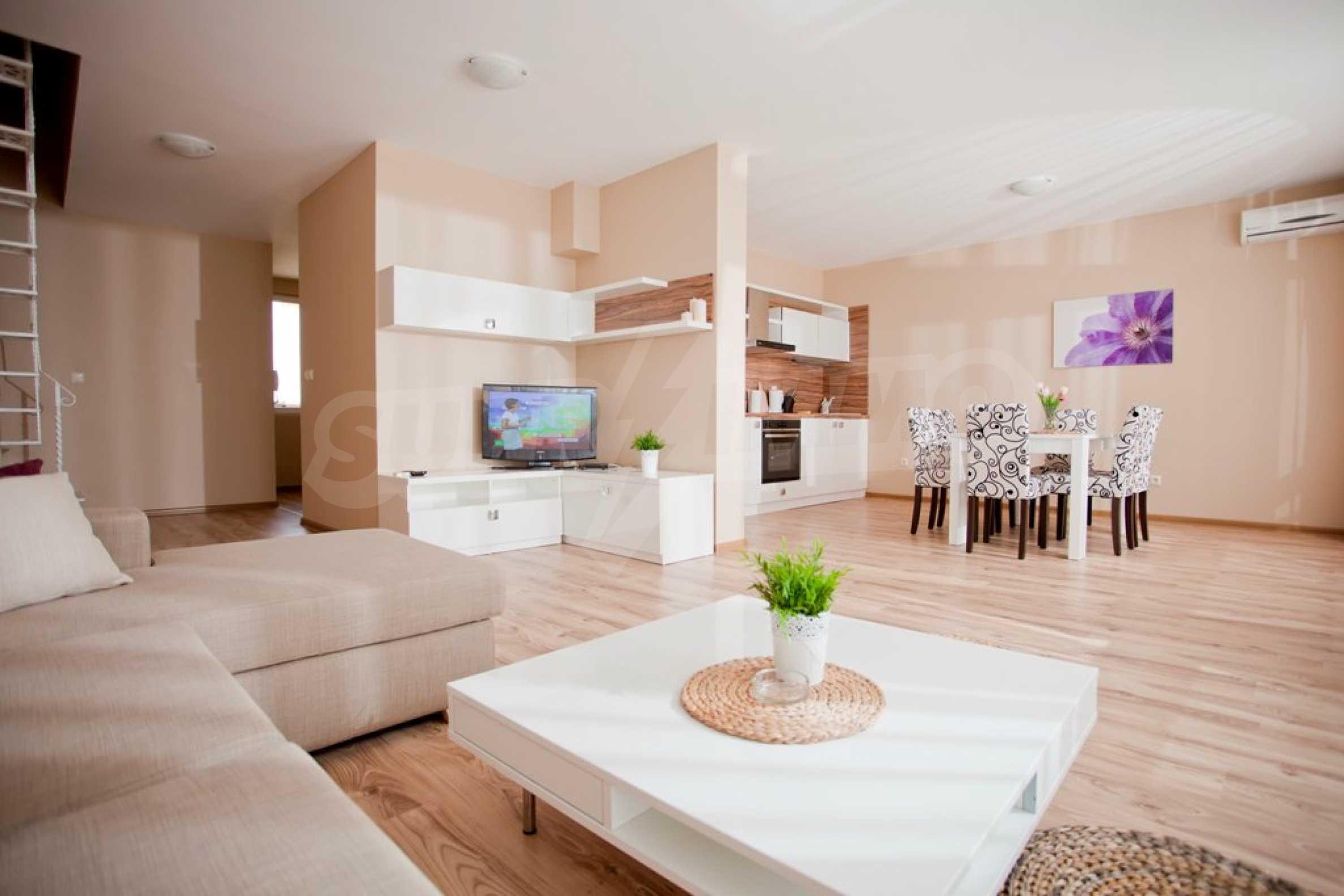 New apartment complex Atia resort in Chernomorets 18