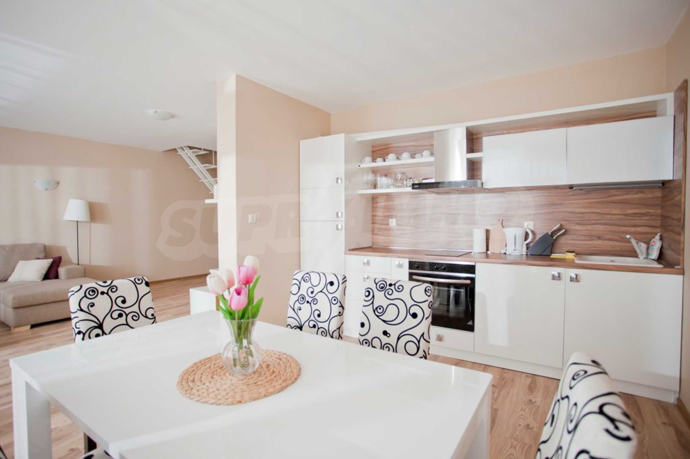 New apartment complex Atia resort in Chernomorets 21