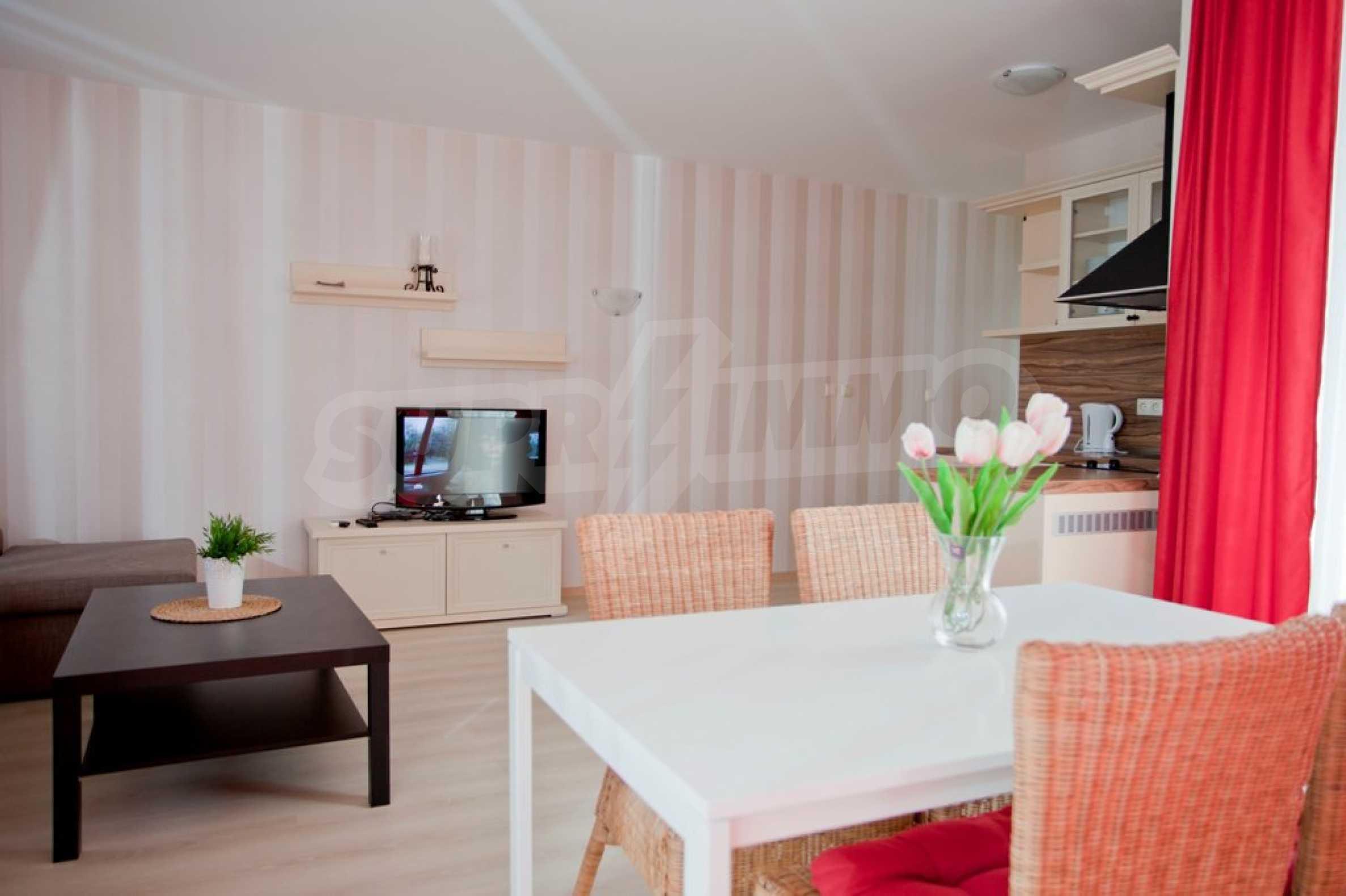 New apartment complex Atia resort in Chernomorets 22