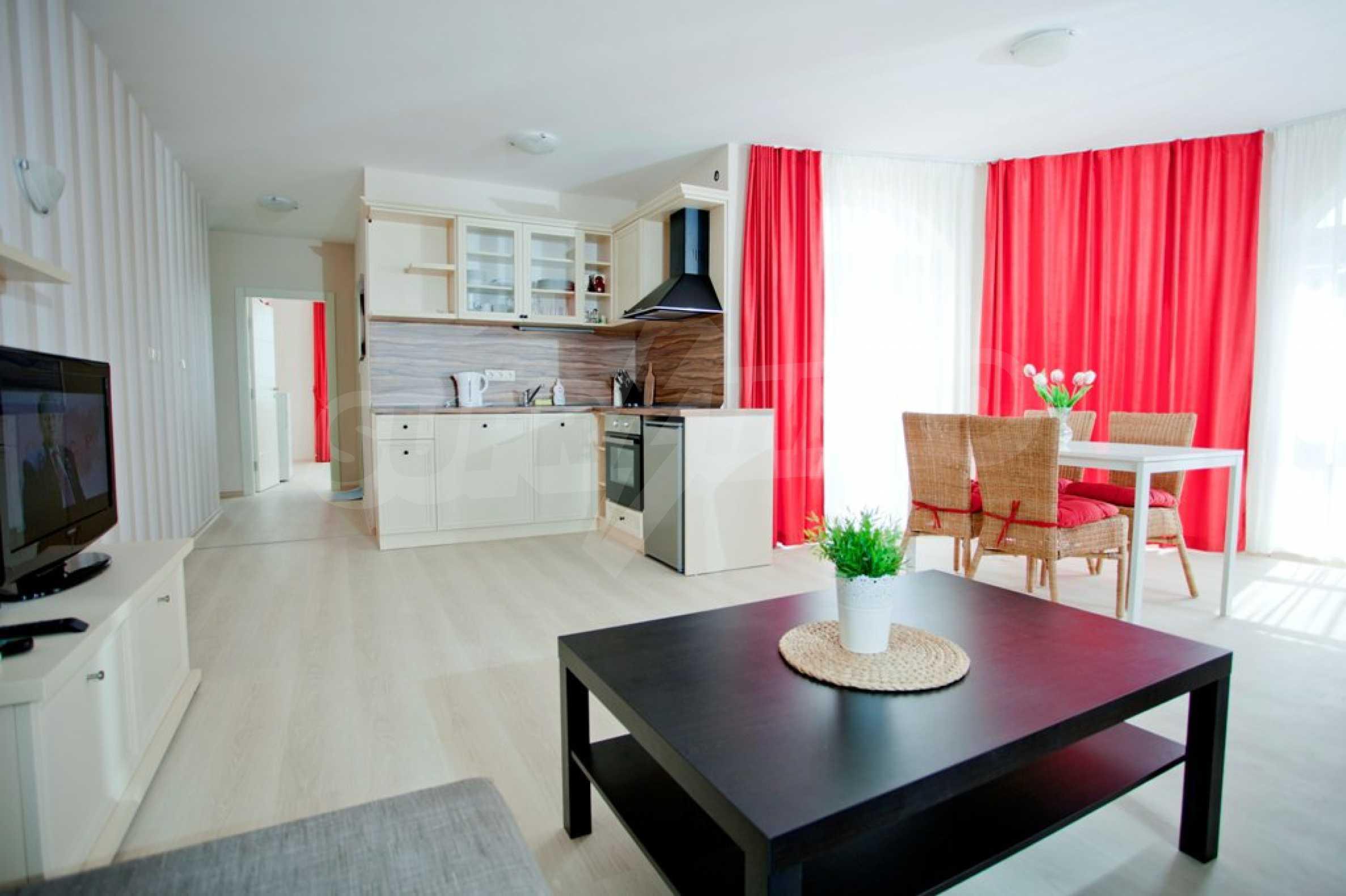 New apartment complex Atia resort in Chernomorets 23