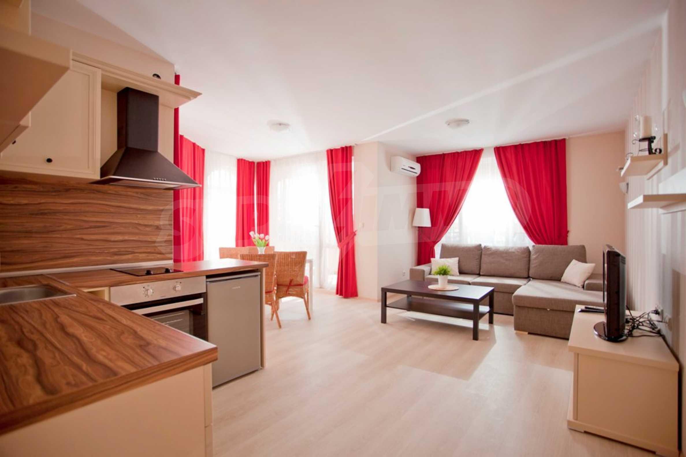 New apartment complex Atia resort in Chernomorets 24