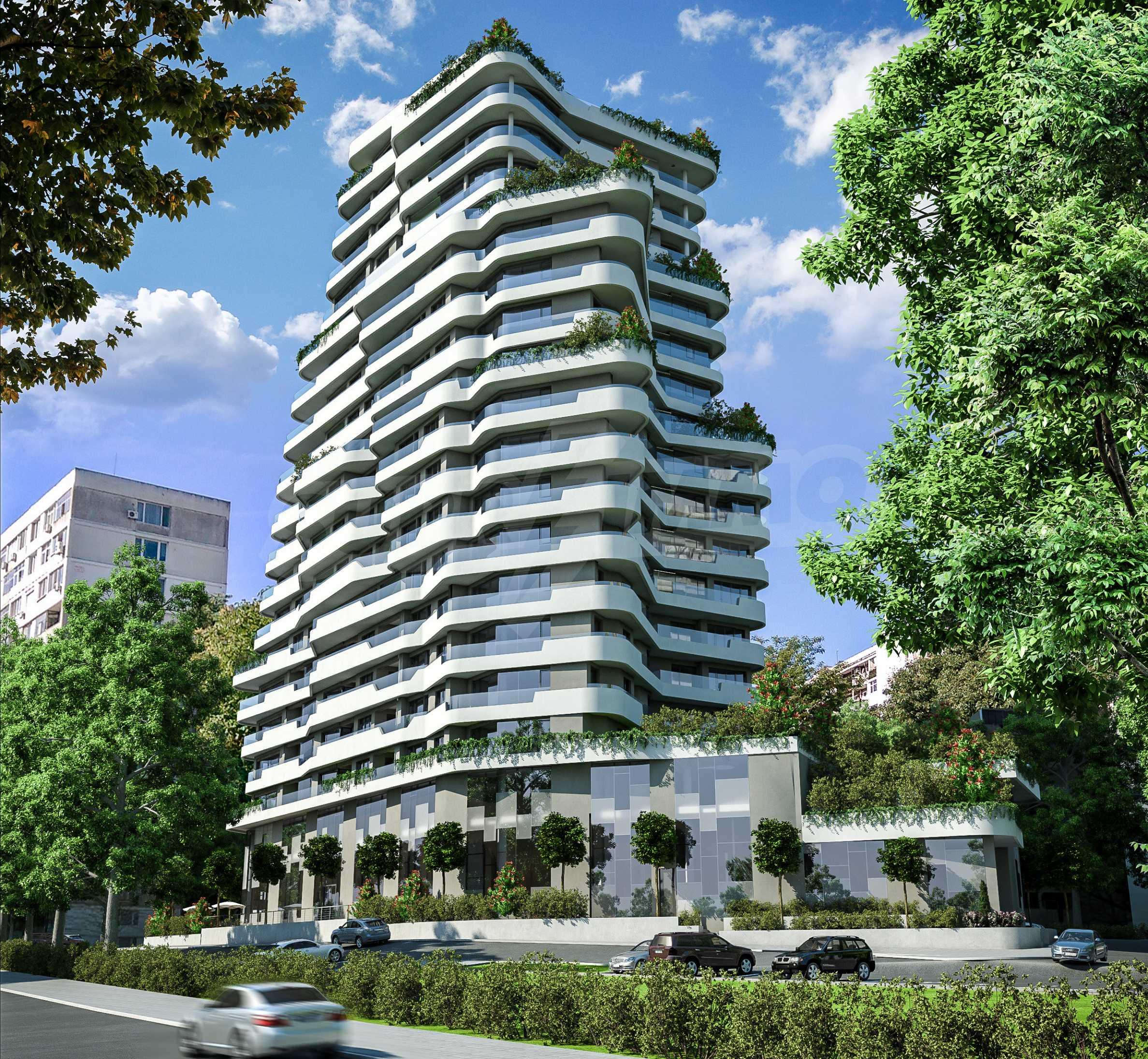 Апартаменти в ефектна сграда с модерна визия до Морската градина 1