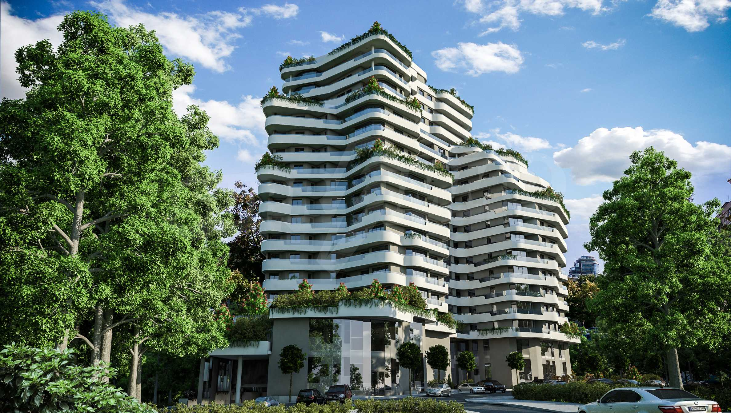 Апартаменти в ефектна сграда с модерна визия до Морската градина 2