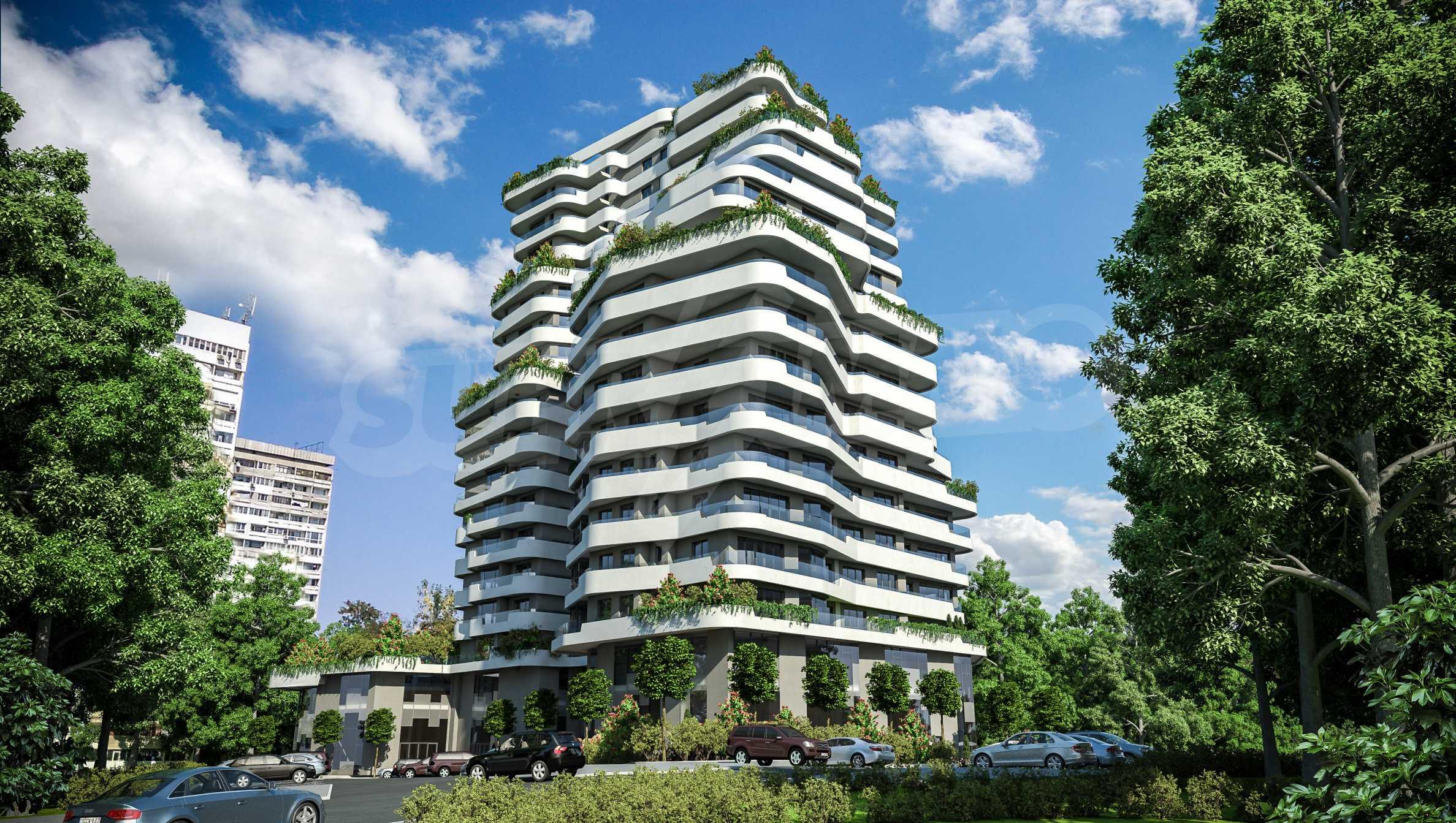 Апартаменти в ефектна сграда с модерна визия до Морската градина 3