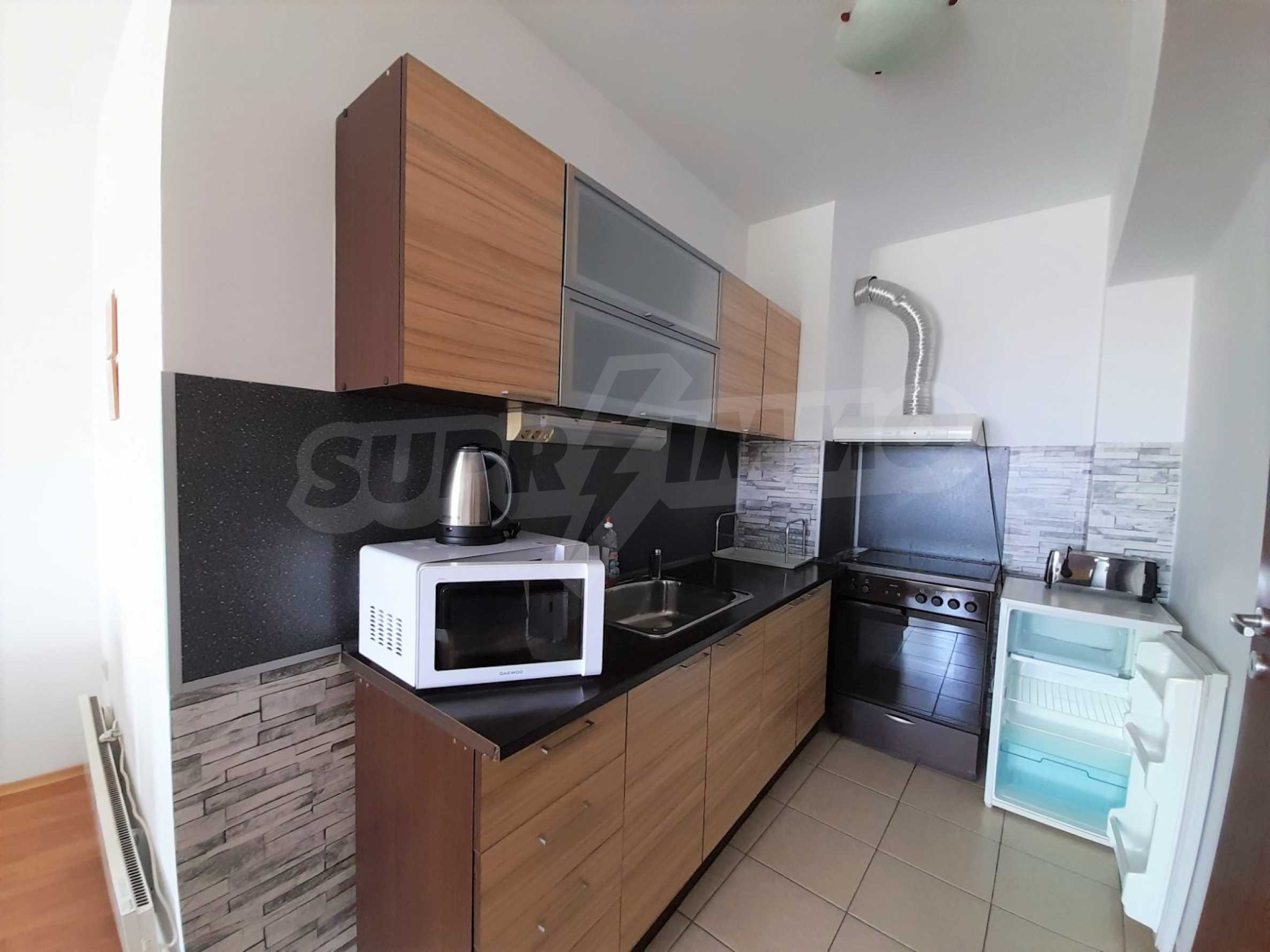 Уютен двустаен апартамент, разположен в комплекс Топ Лодж, само на метри от ски лифта в Банско 2
