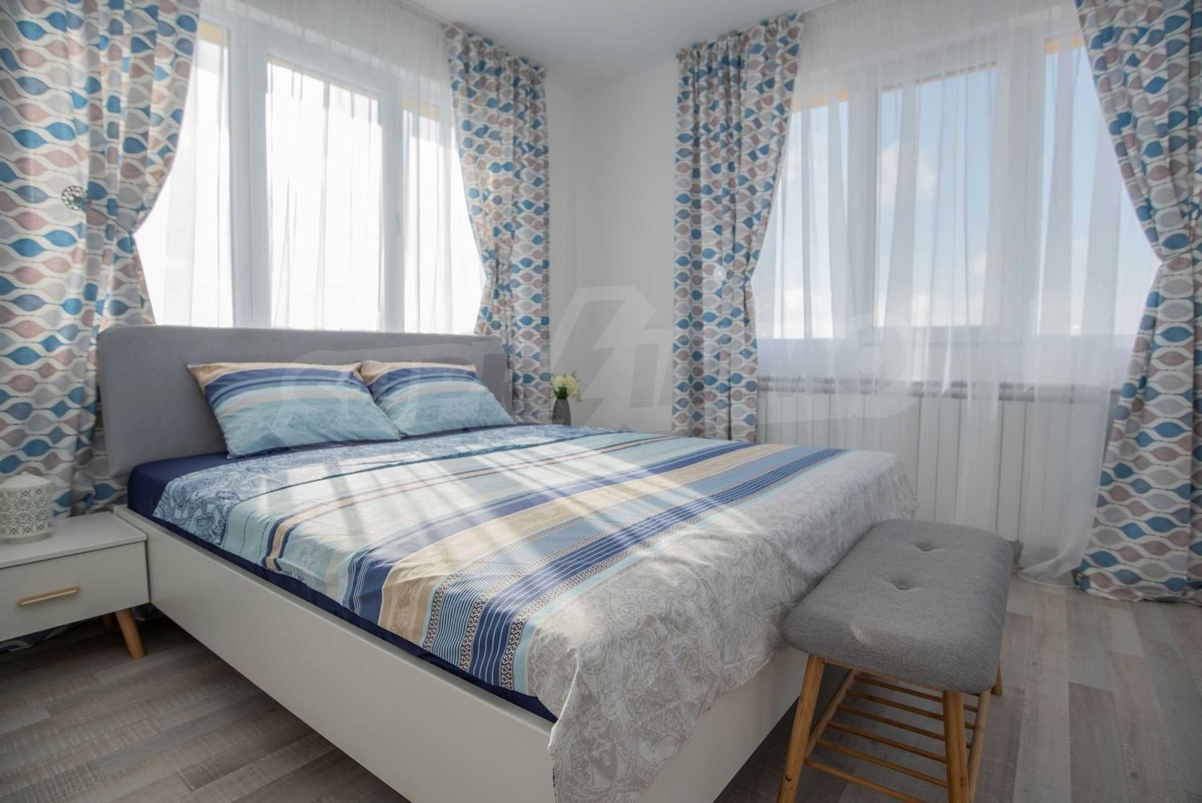 """Villa """"Charming Sun"""" - beautiful garden and pool, sea view and vintage interior 13"""