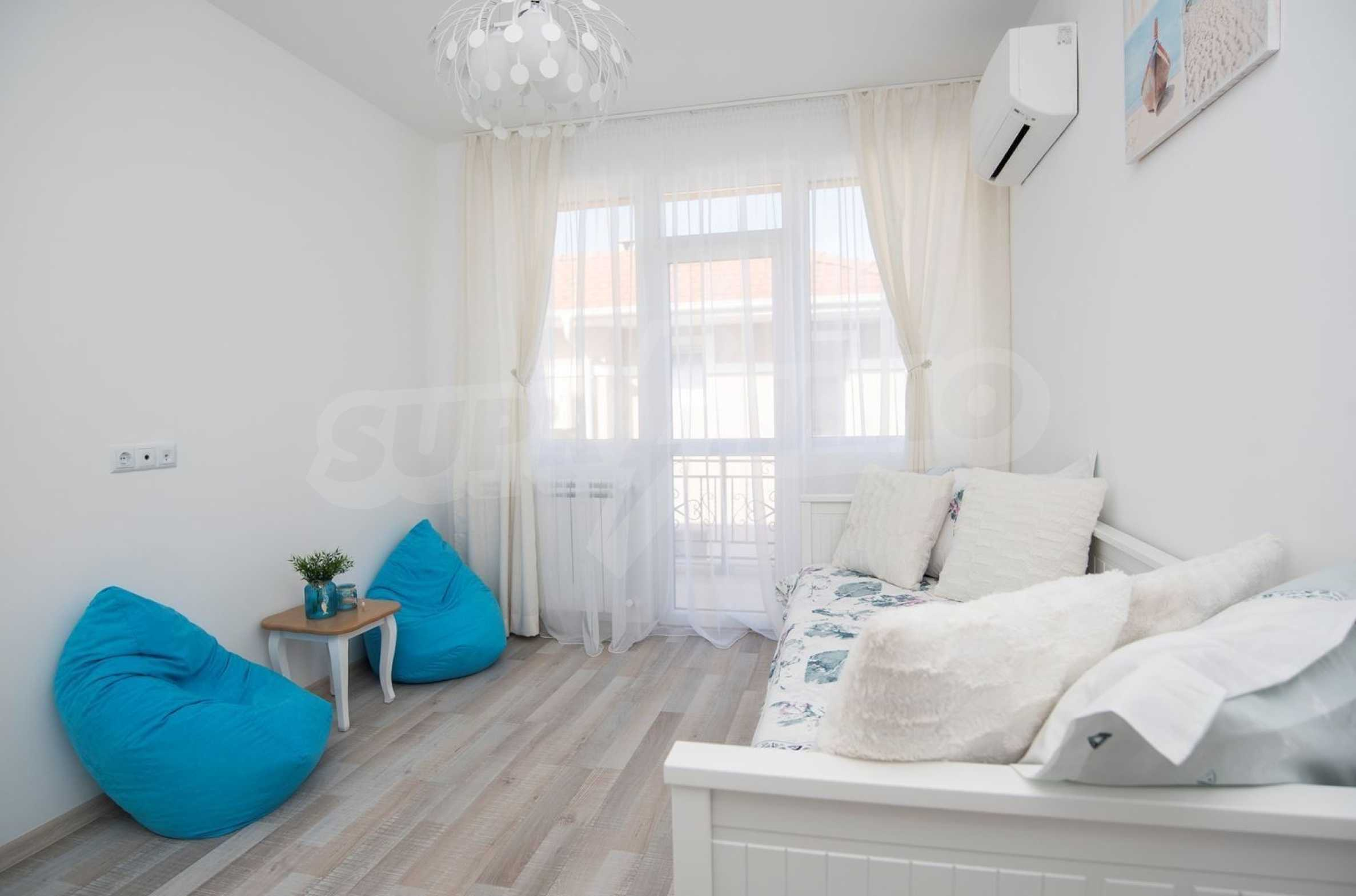 """Villa """"Charming Sun"""" - beautiful garden and pool, sea view and vintage interior 20"""