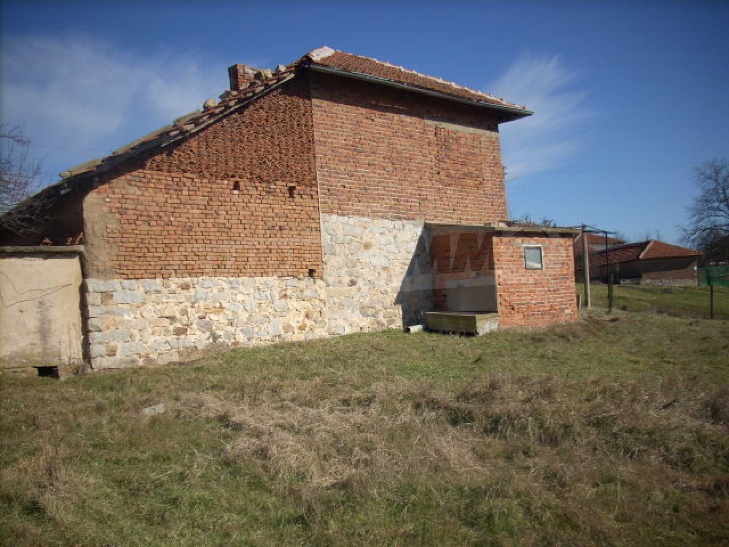 Solid, brick-built house with huge garden 10