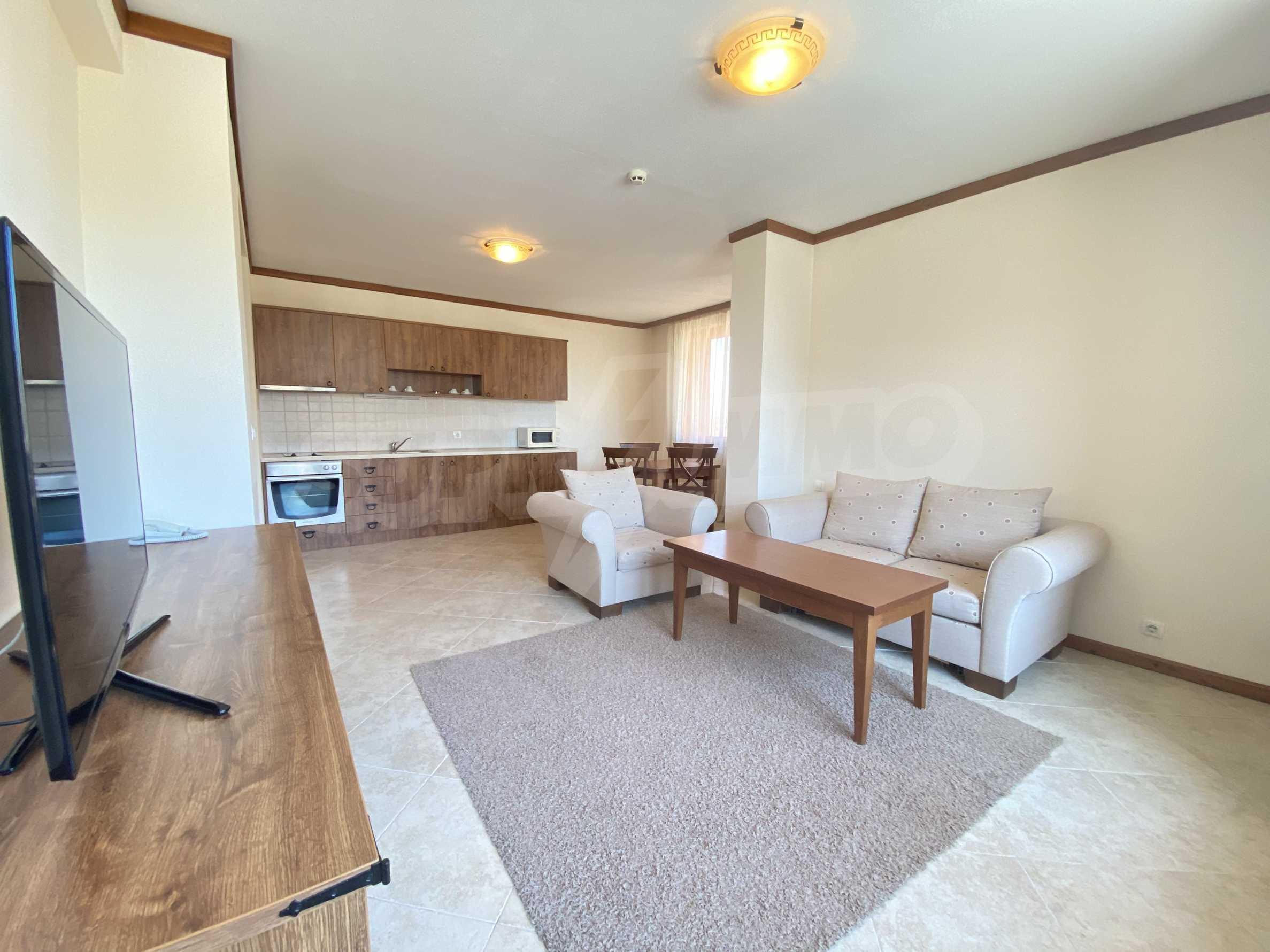Обзаведен двустаен апартамент в луксозен СПА комплекс в Банско 1