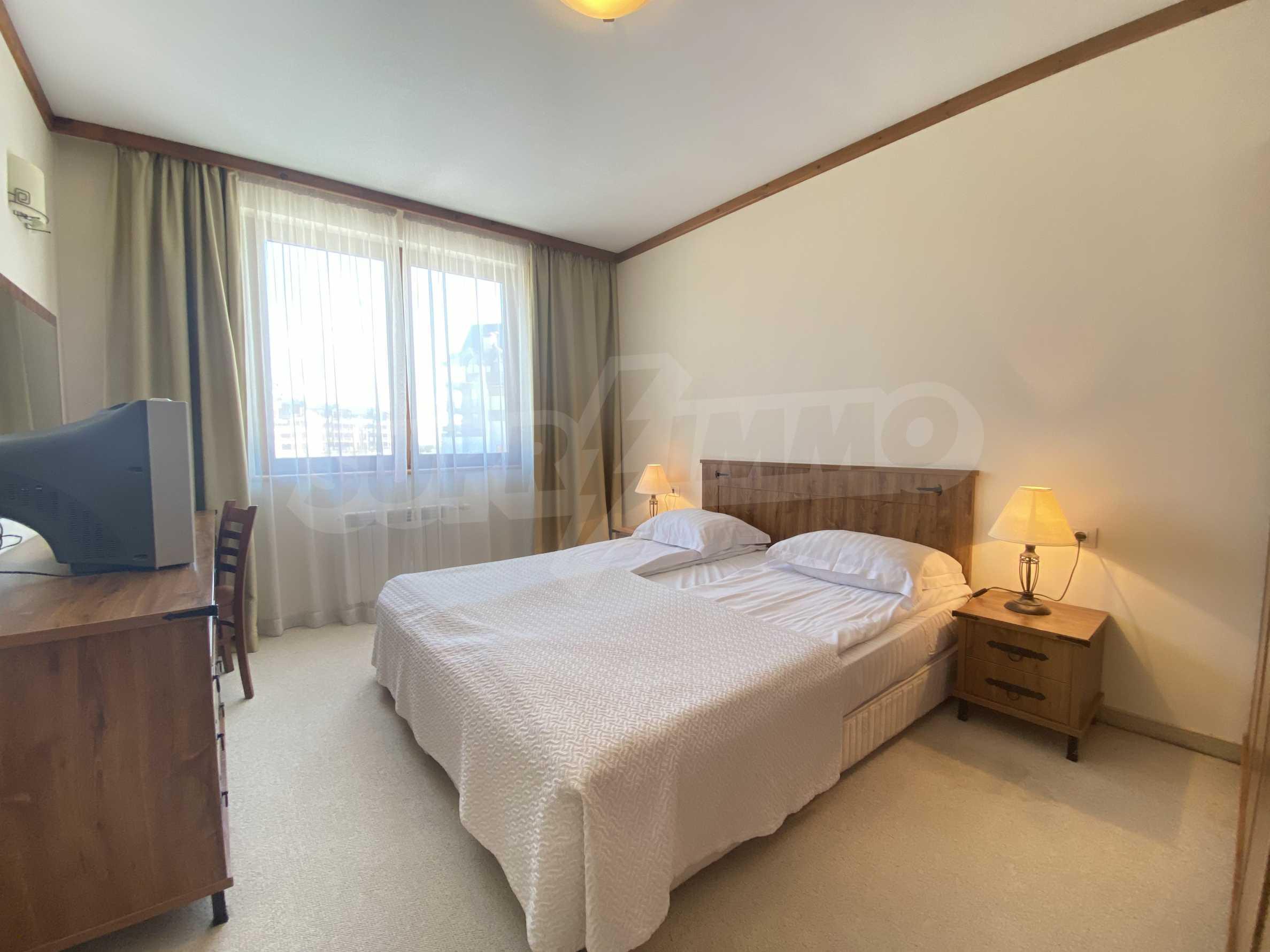 Обзаведен двустаен апартамент в луксозен СПА комплекс в Банско 10