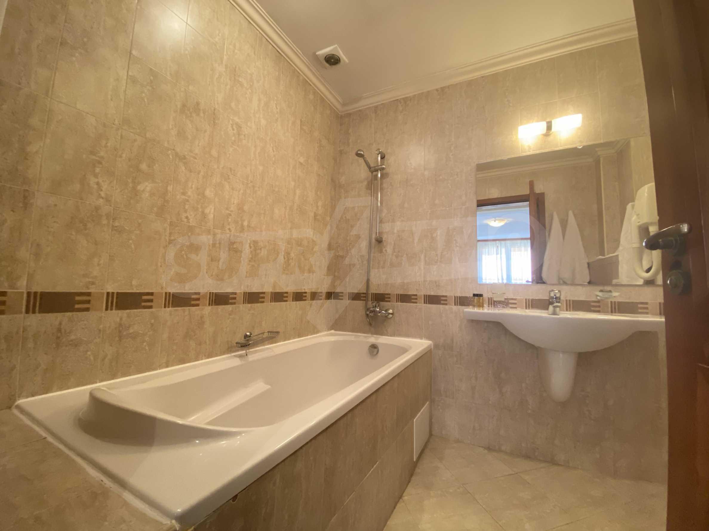 Обзаведен двустаен апартамент в луксозен СПА комплекс в Банско 12