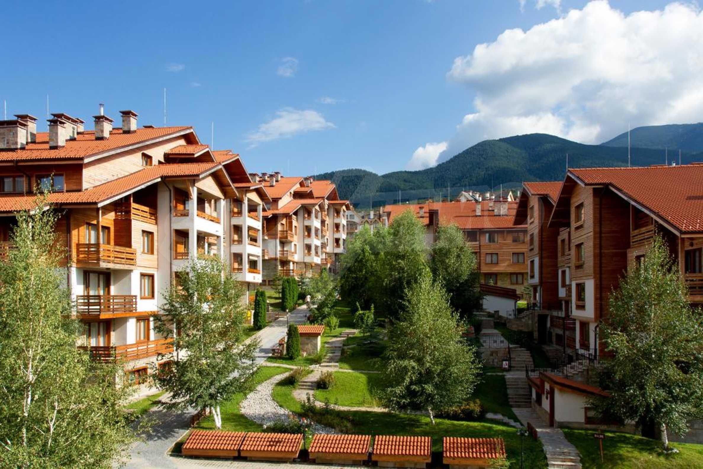Обзаведен двустаен апартамент в луксозен СПА комплекс в Банско 13