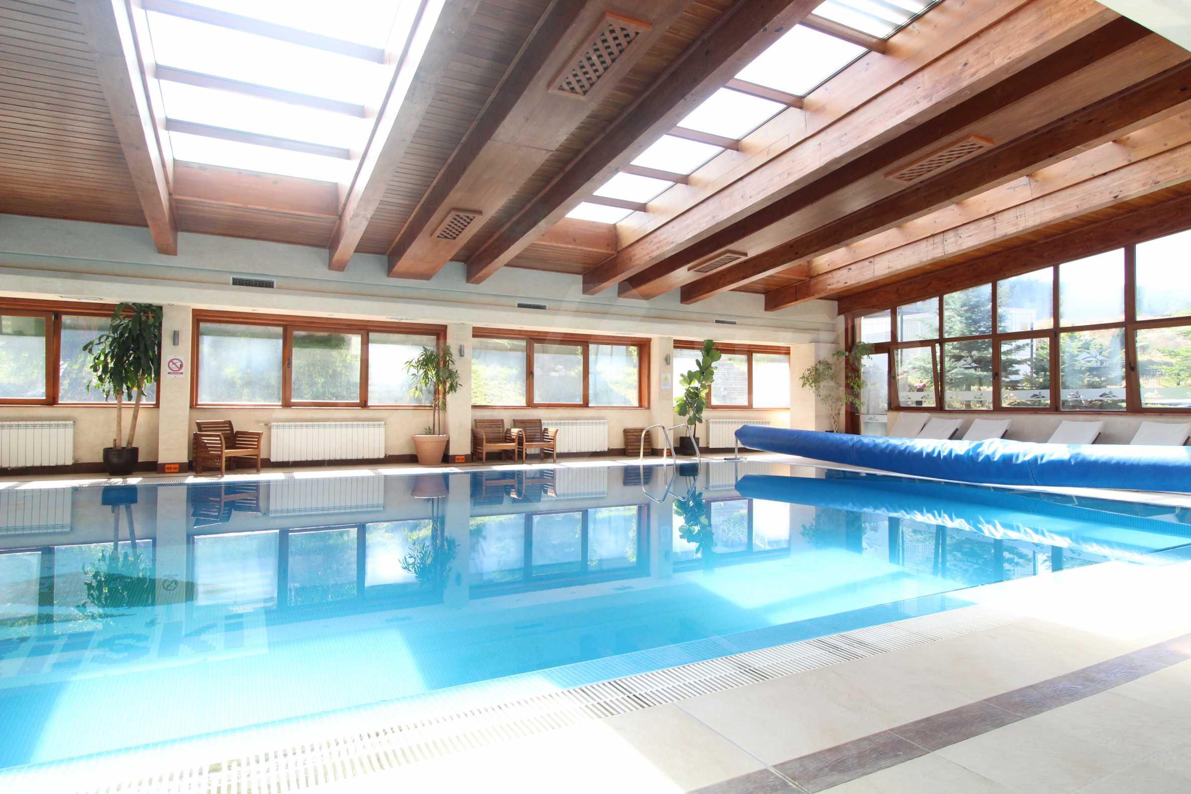 Обзаведен двустаен апартамент в луксозен СПА комплекс в Банско 15